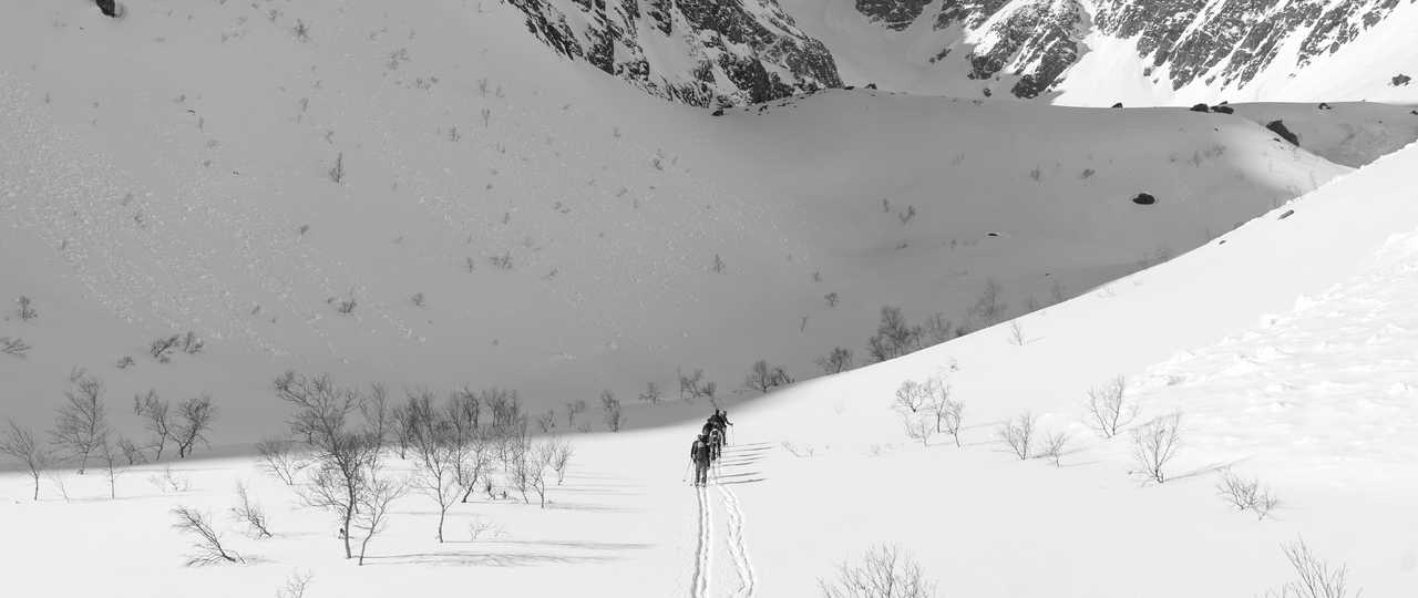 ski lors d'un voyage en norvège