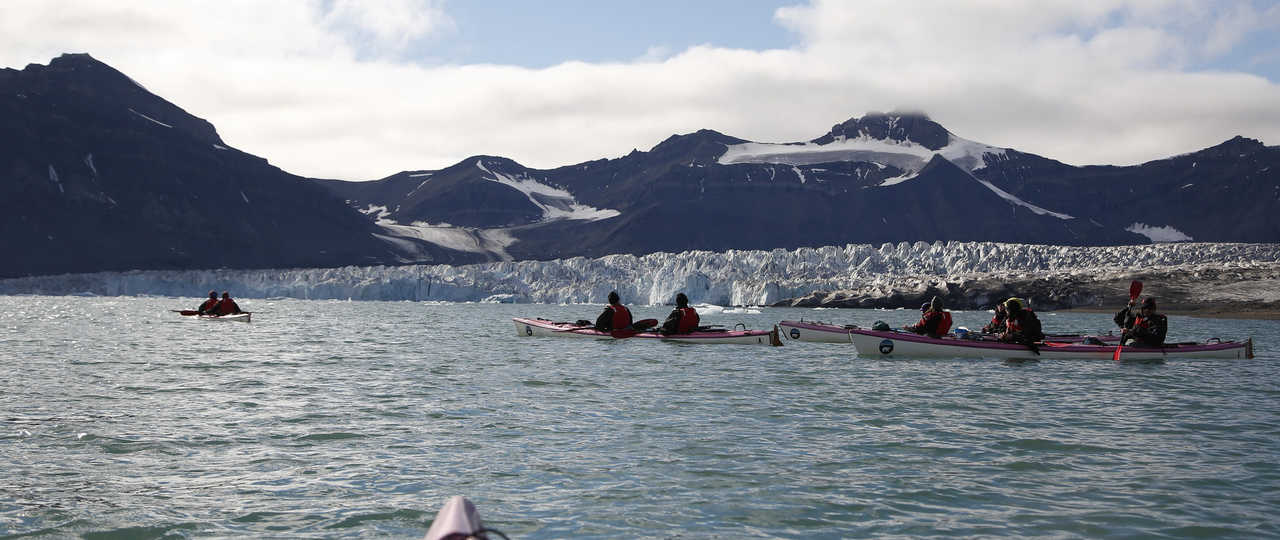 Voyage polaire en kayak de mer