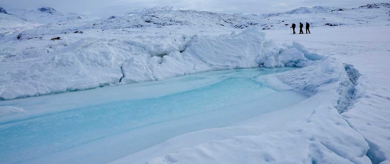 Voyage Ski en Arctique, Groenland