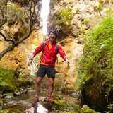Matthieu au Mont Kenya