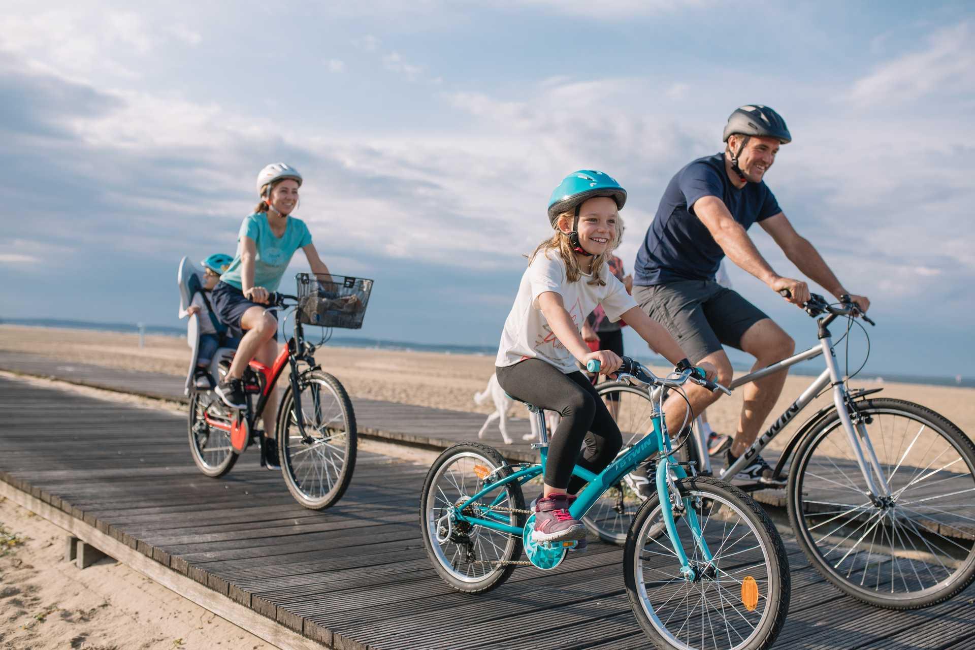 A vélo en famille sur la Côte Atlantique