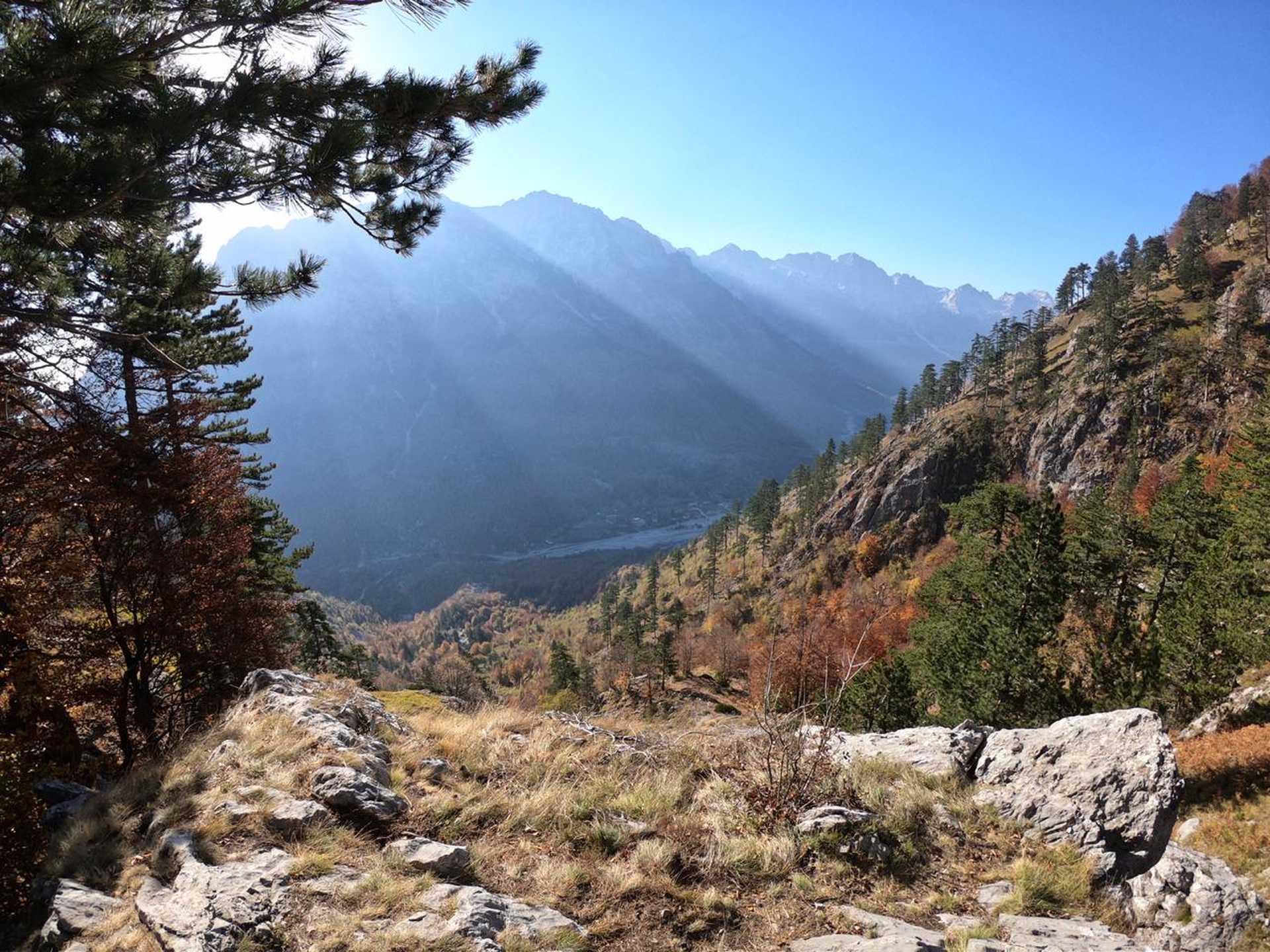 Albanie, vers le lac de Dashi