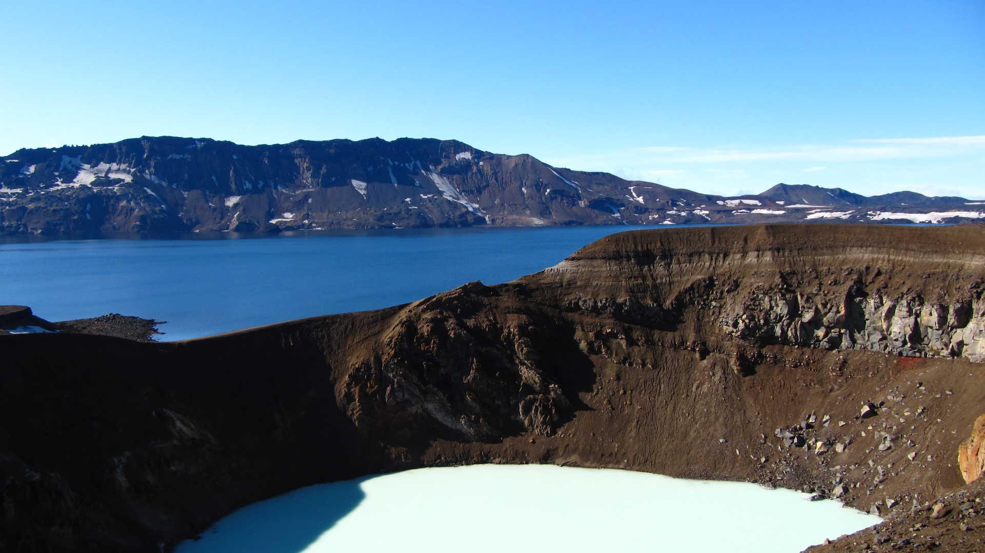 Askja Islande