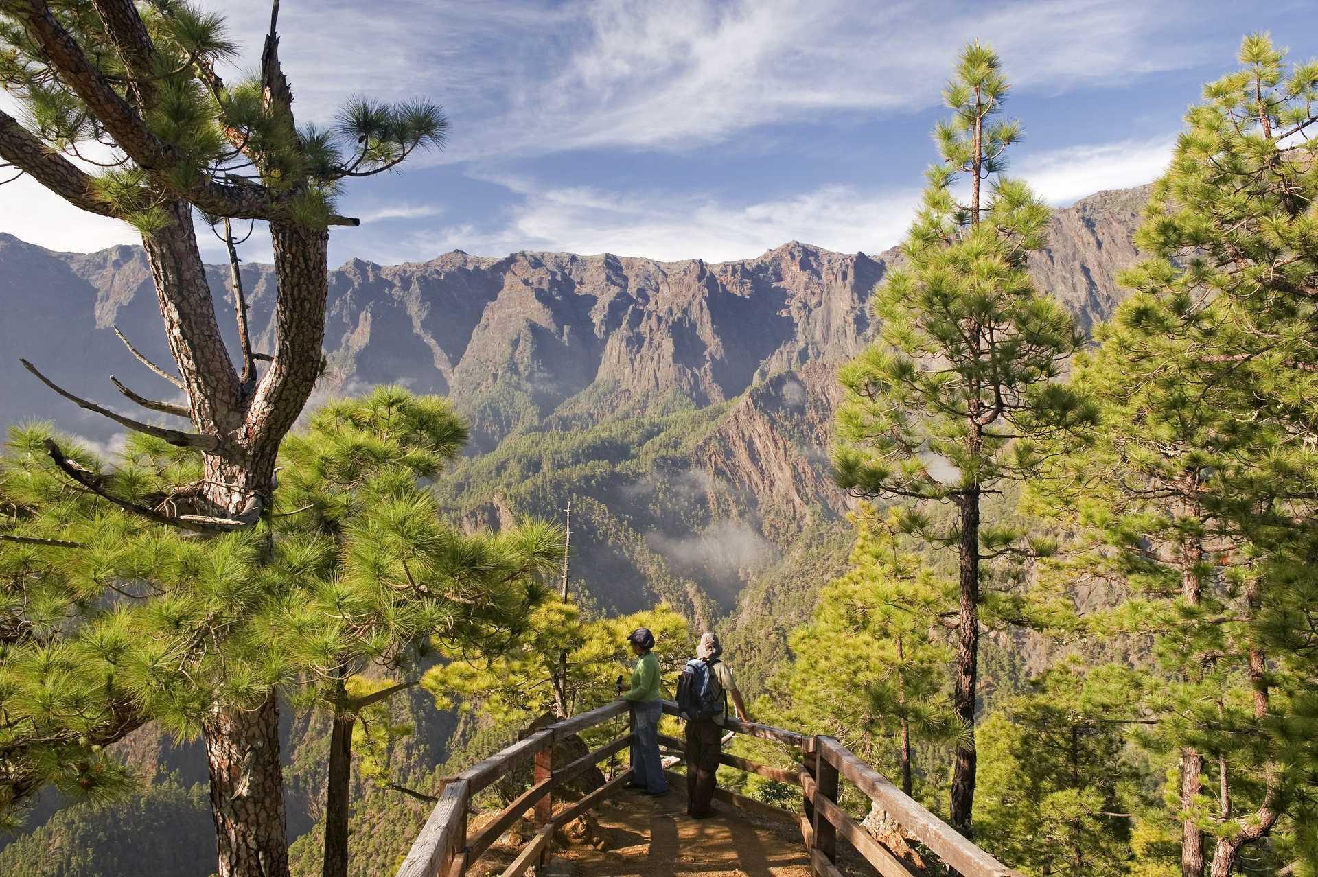canaries, la Palma, randonnée, caldeira Taburiente