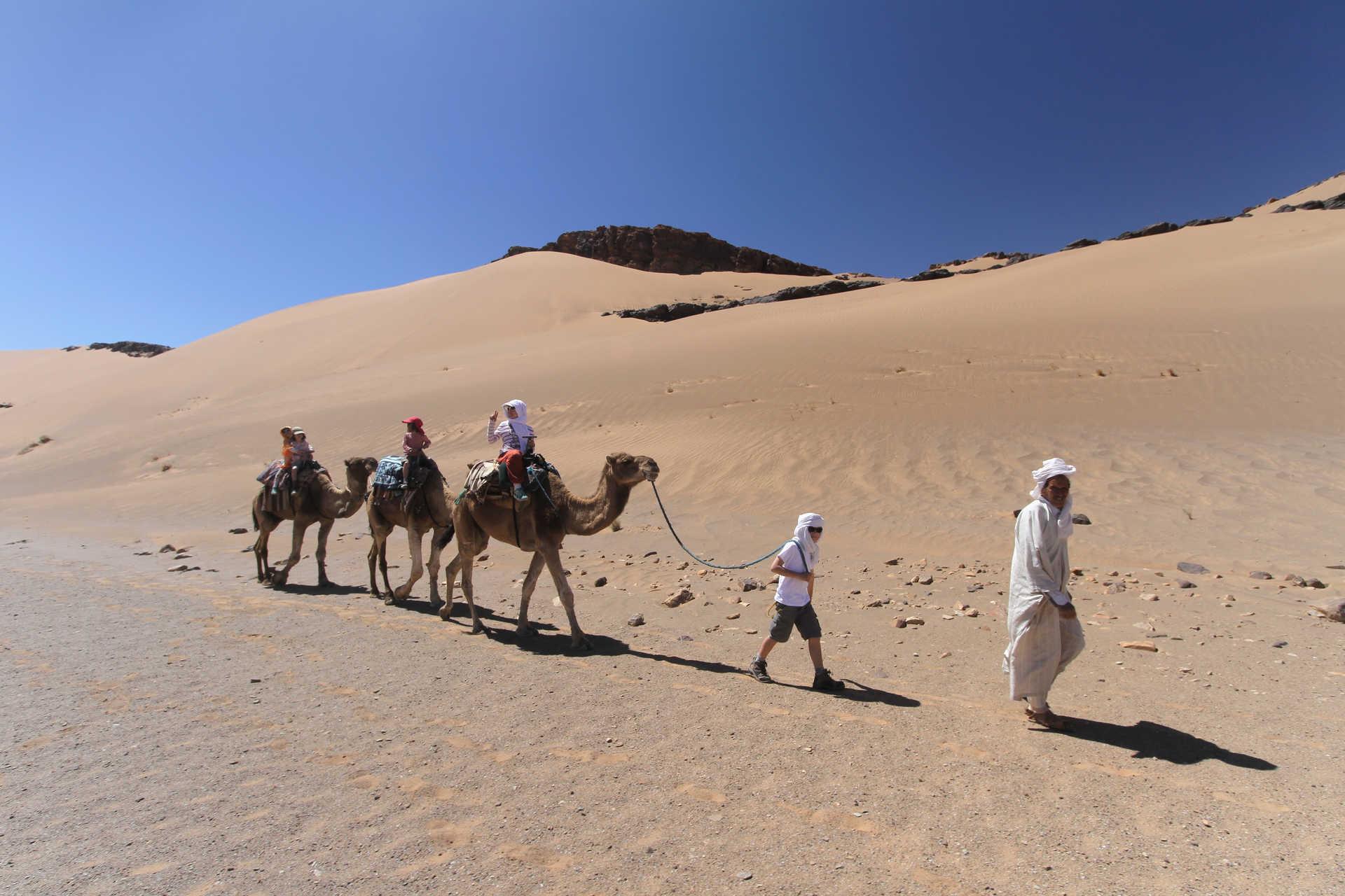 Caravane famille, Maroc