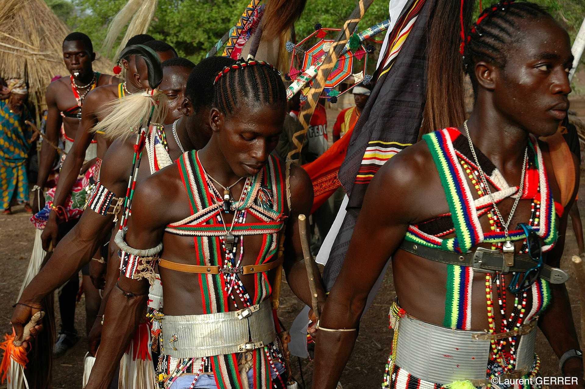 Cérémonie dans le Sénégal oriental