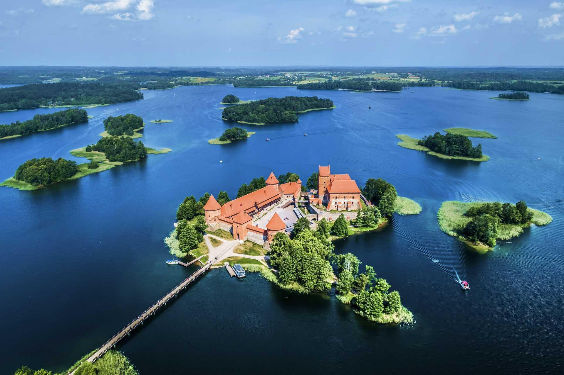 Château de Trakaï, Lituanie