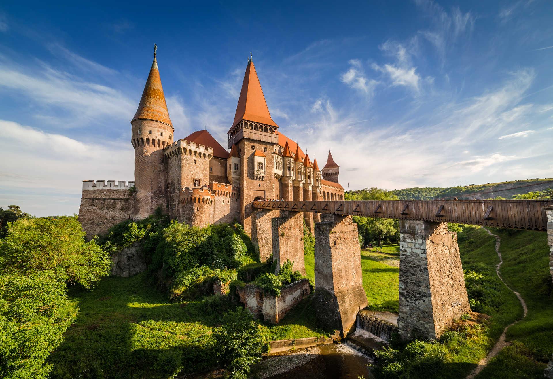 Château des Corvin à Hunedoara, Roumanie
