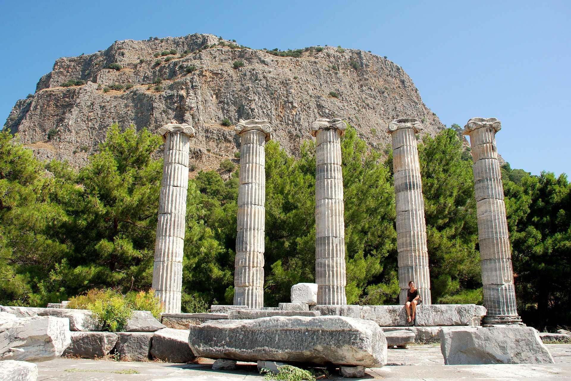 Colonnade de Priène