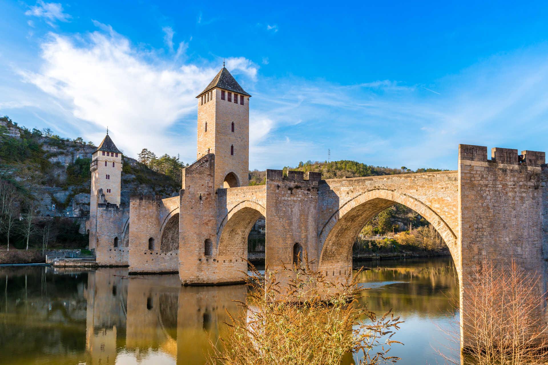 Compostelle - Cahors - Pont valentré