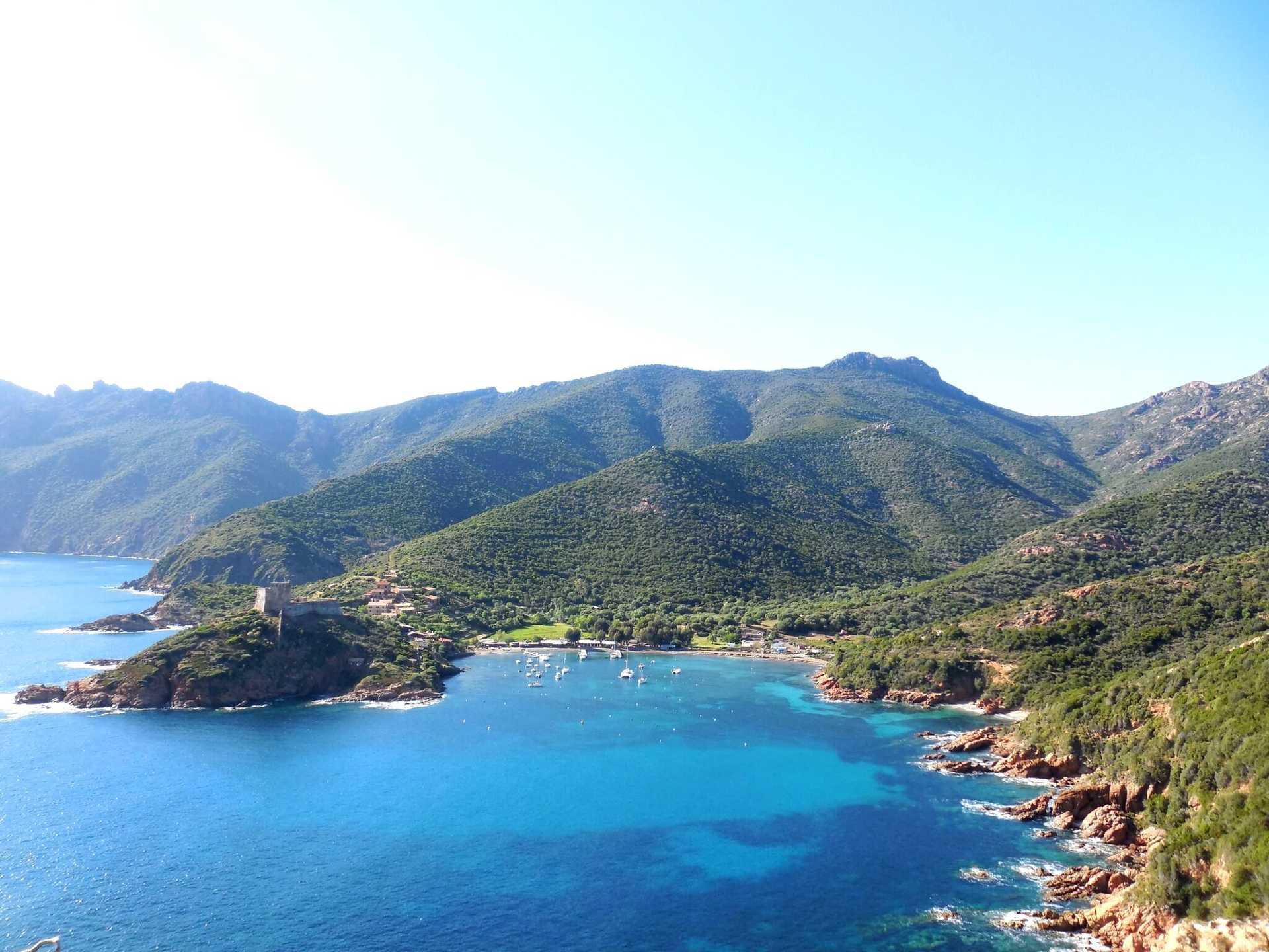 Corse, randonnée, Golfe de Porto, Golfe de Girolata