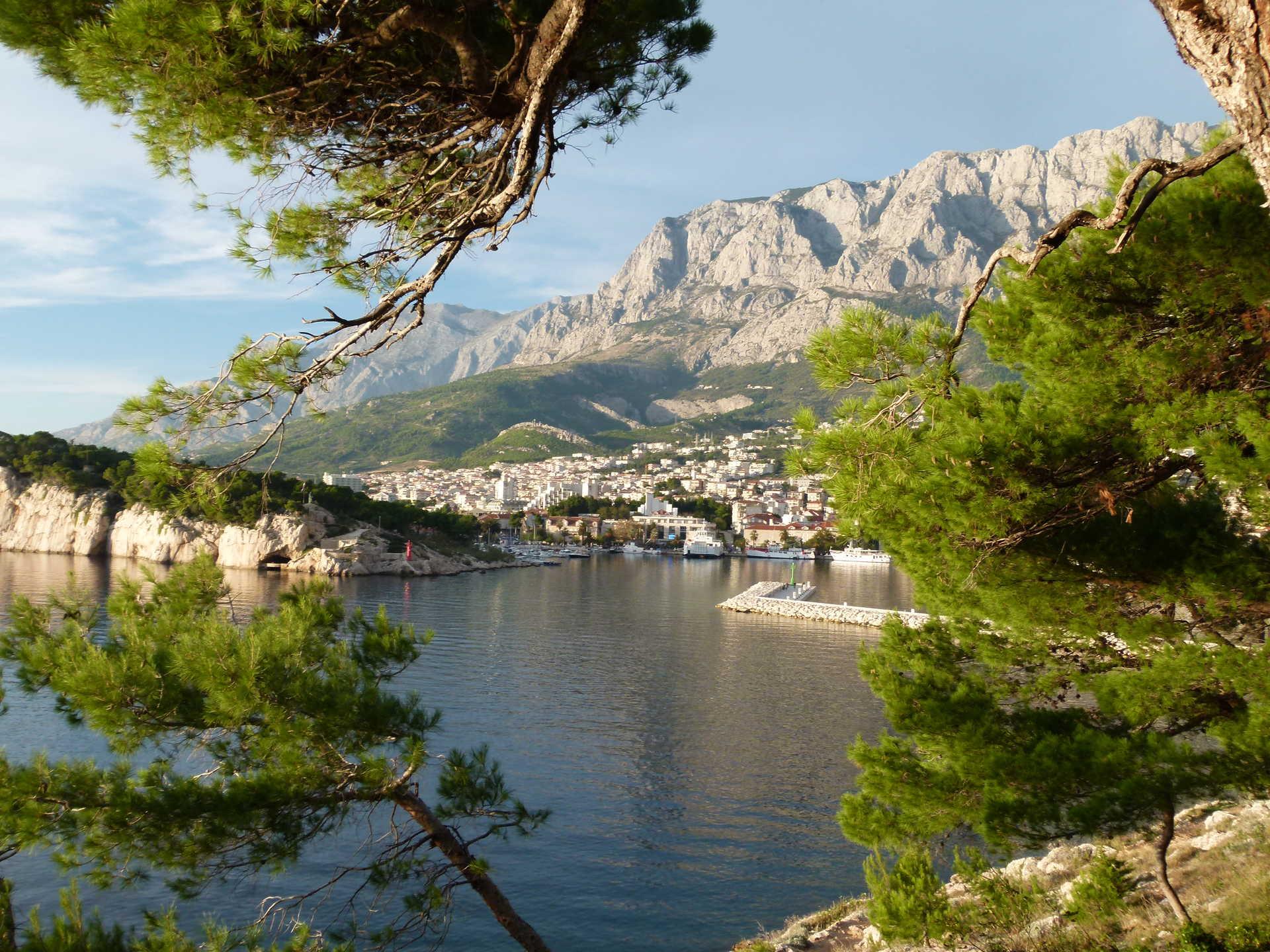 Croatie, Dalmatie, riviera de Makarska