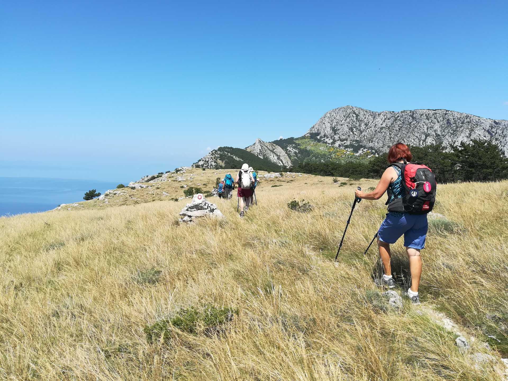 Croatie, randonnée Omiska Dinara