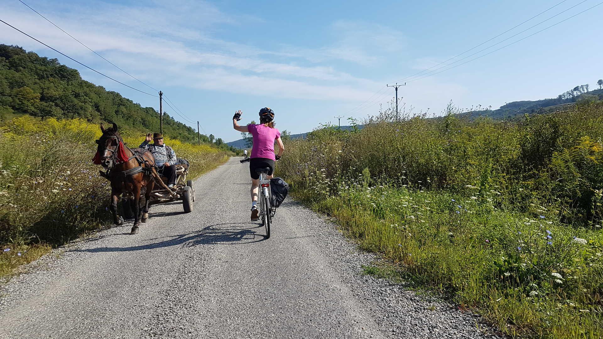 Circuit Liberté vélo Transylvanie Roumanie