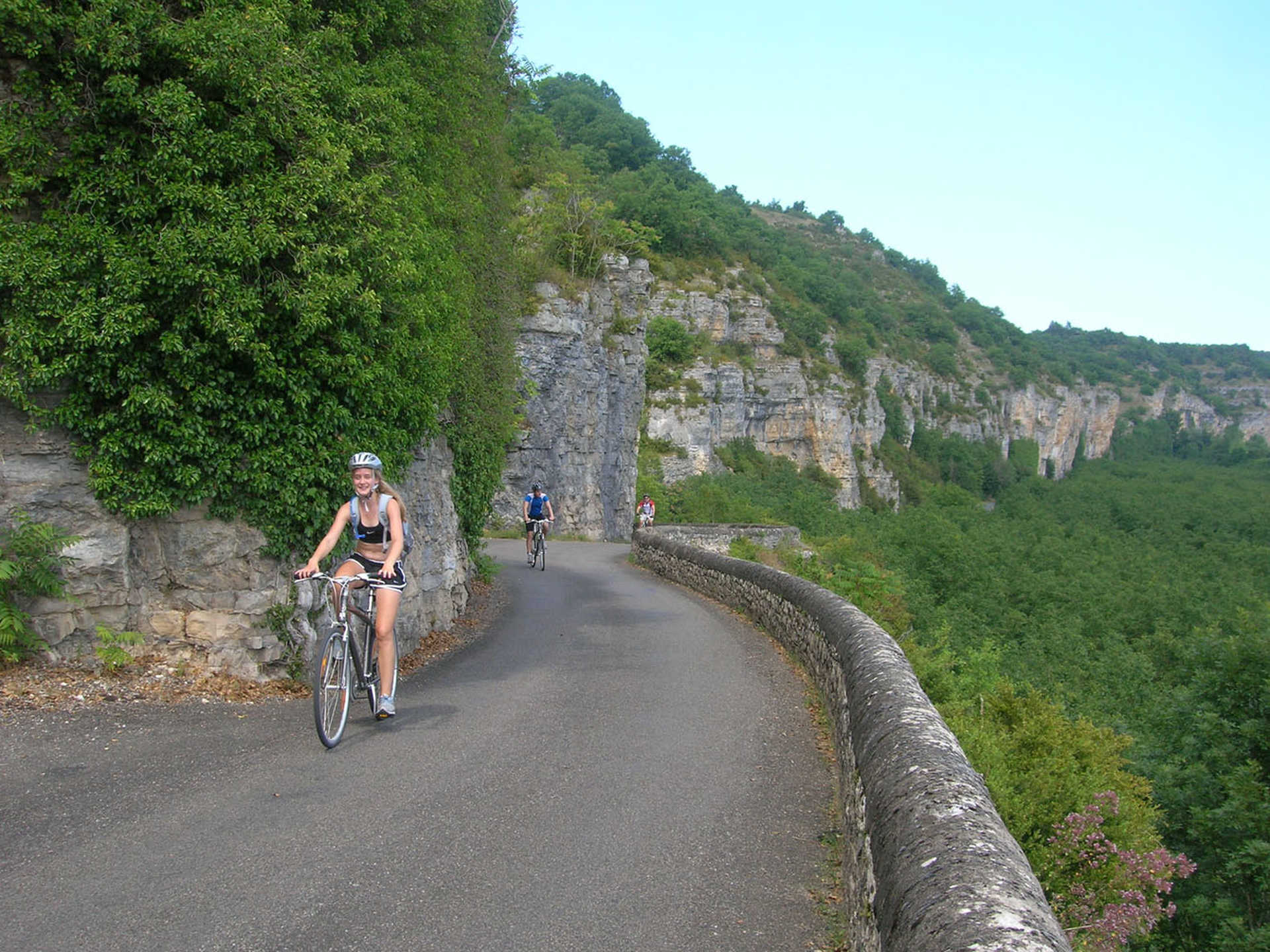Cyclistes Périgord Sud-Ouest France