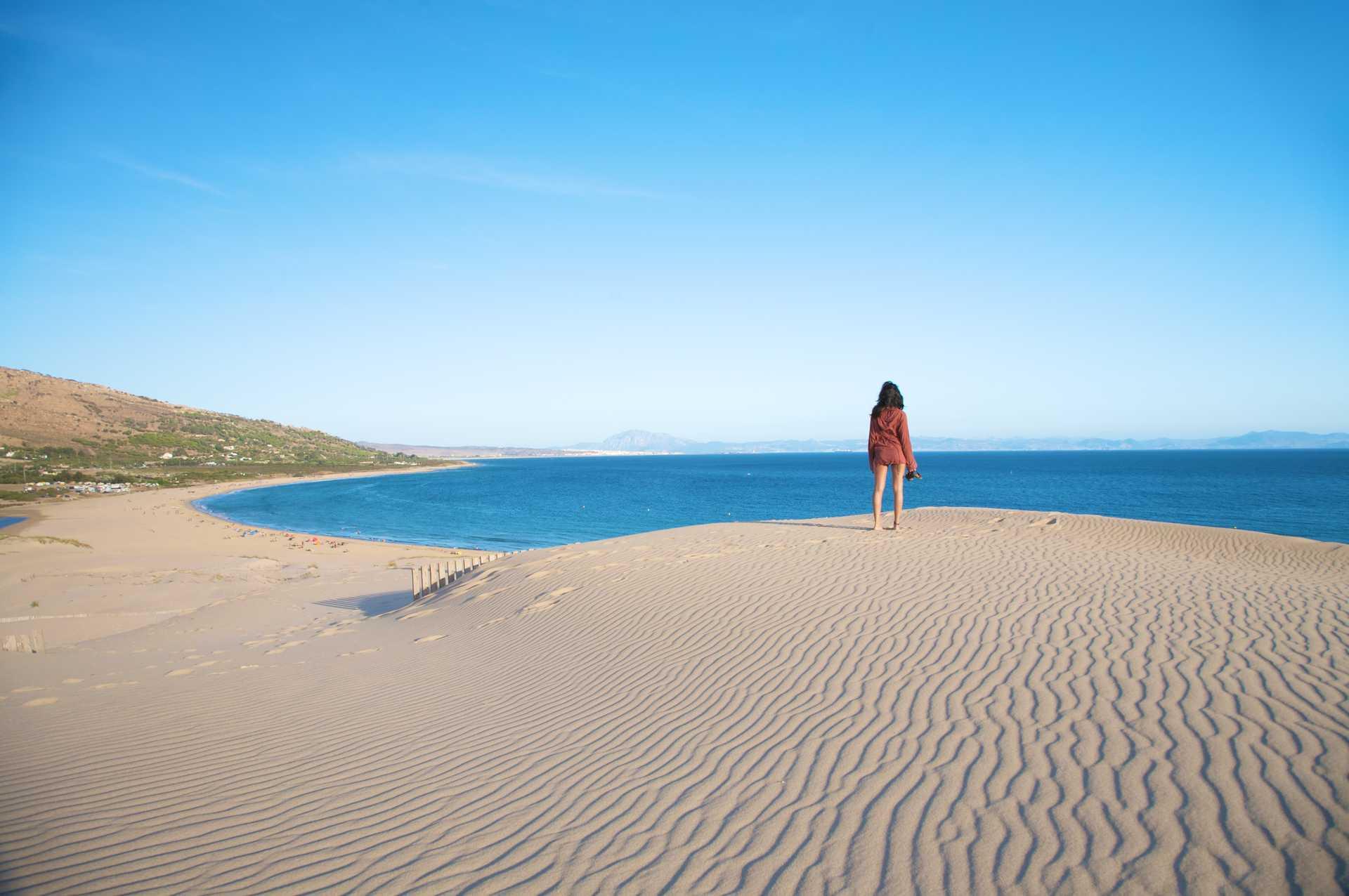Dune de sable en Espagne