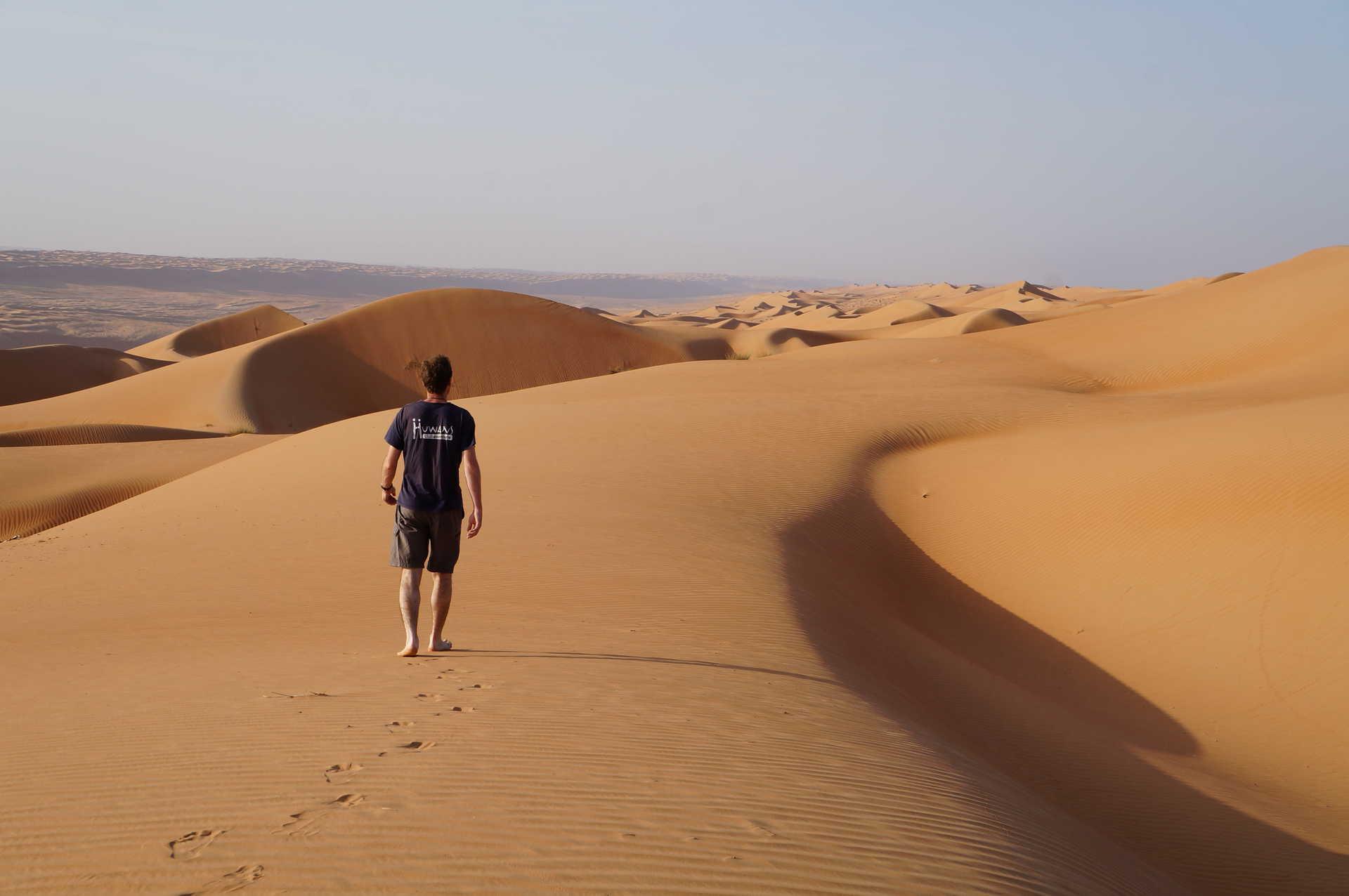 Dunes de Wahiba, Oman