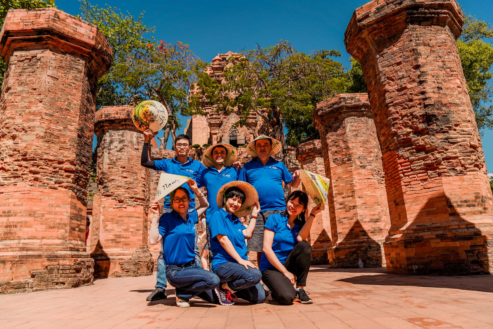 Equipe locale Altaï Vietnam