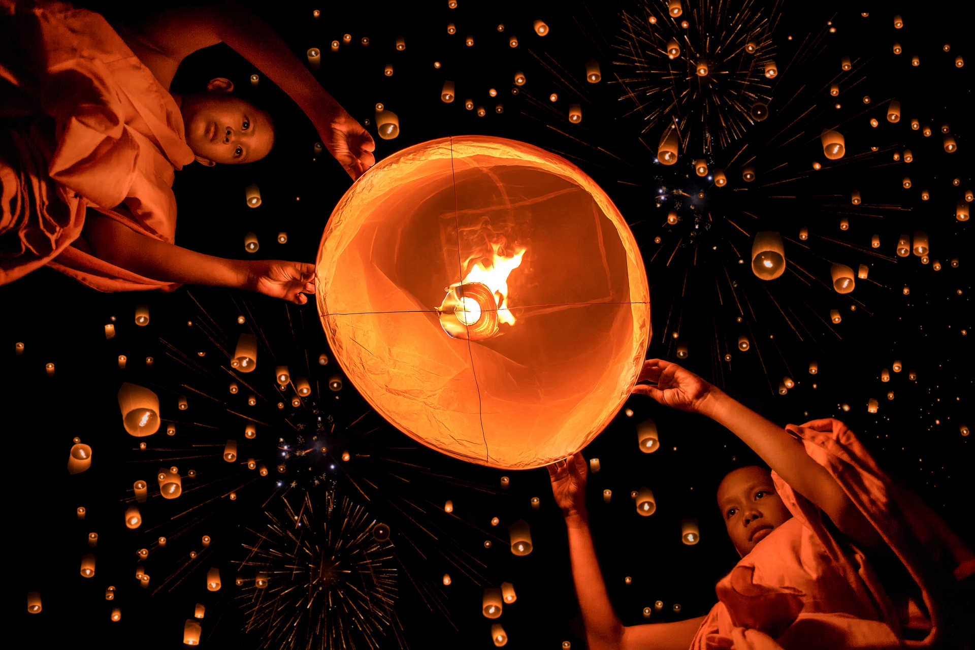 Festival de Loy Krathong, Thailande
