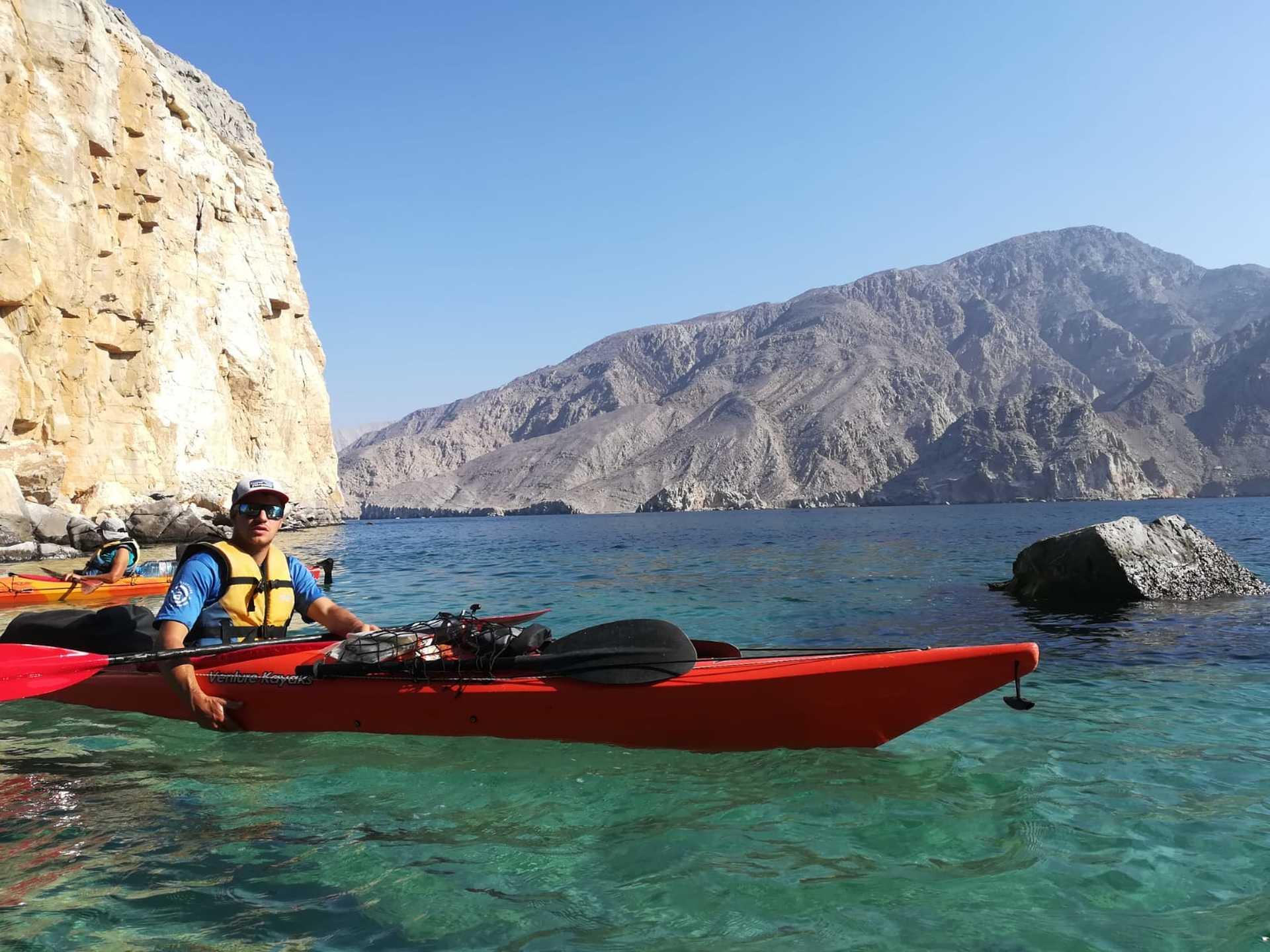 Guide Altaï en kayak à Oman