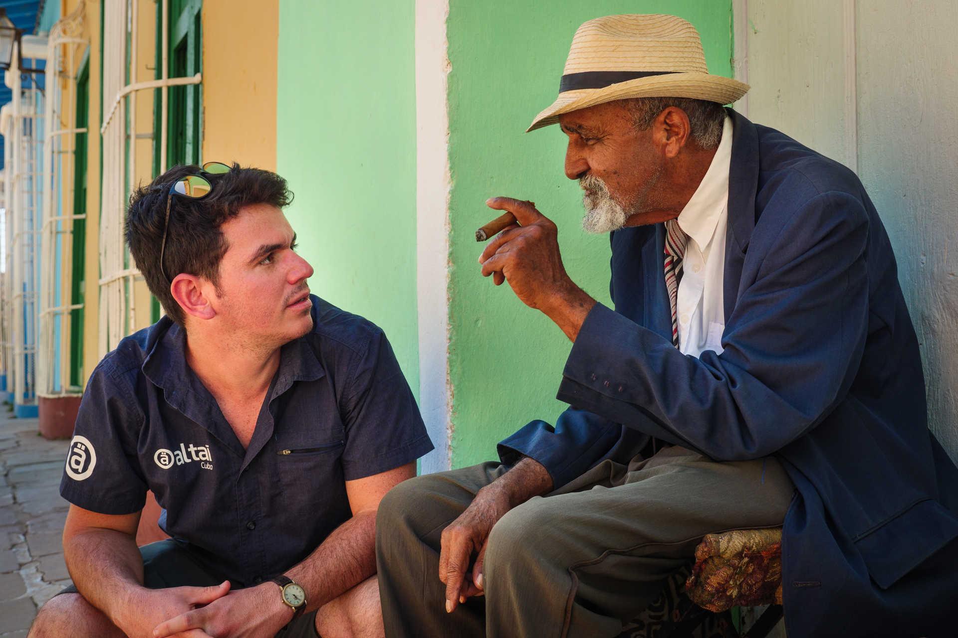 Guide local et habitant de Trinidad
