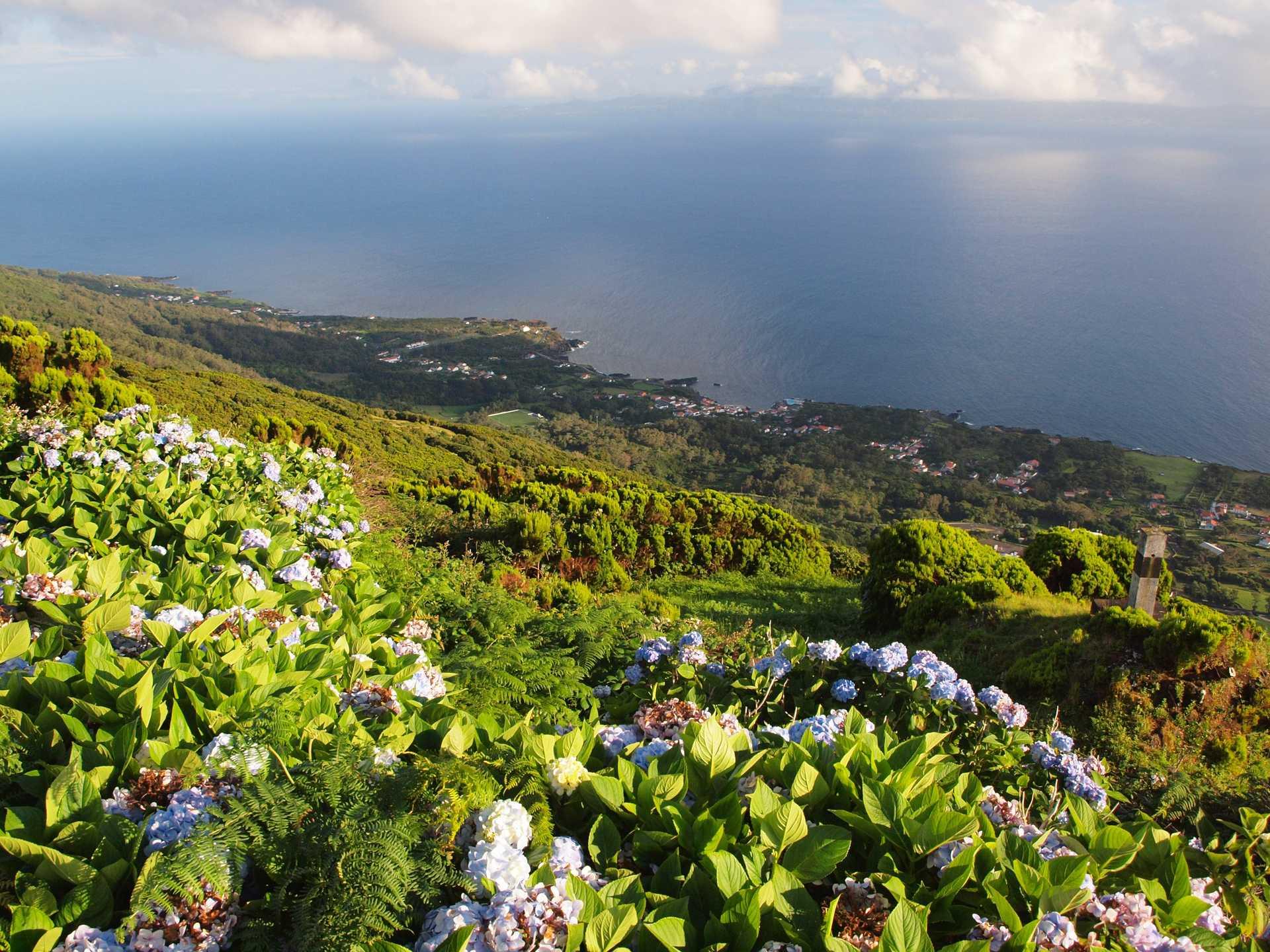Ile de Sao Miguel aux Açores