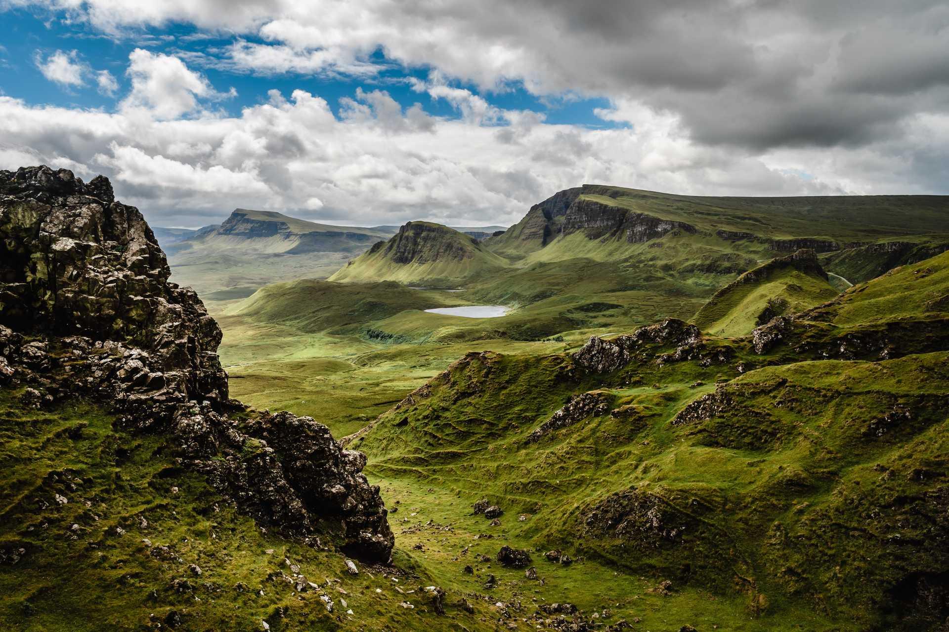 Île de Skye dans les Highlands