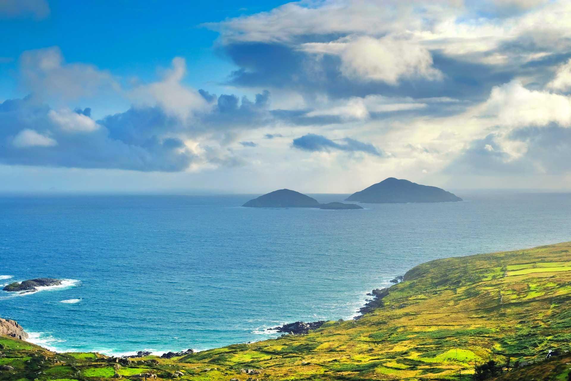 Iles du kerry, Irlande