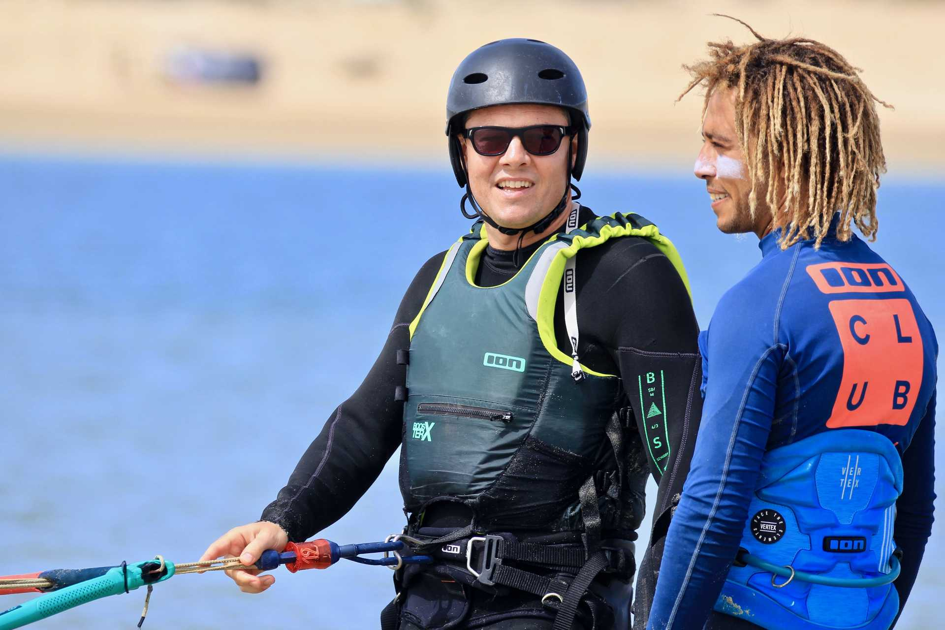kitesurf course à Dakhla Lagoon avec ION CLUB