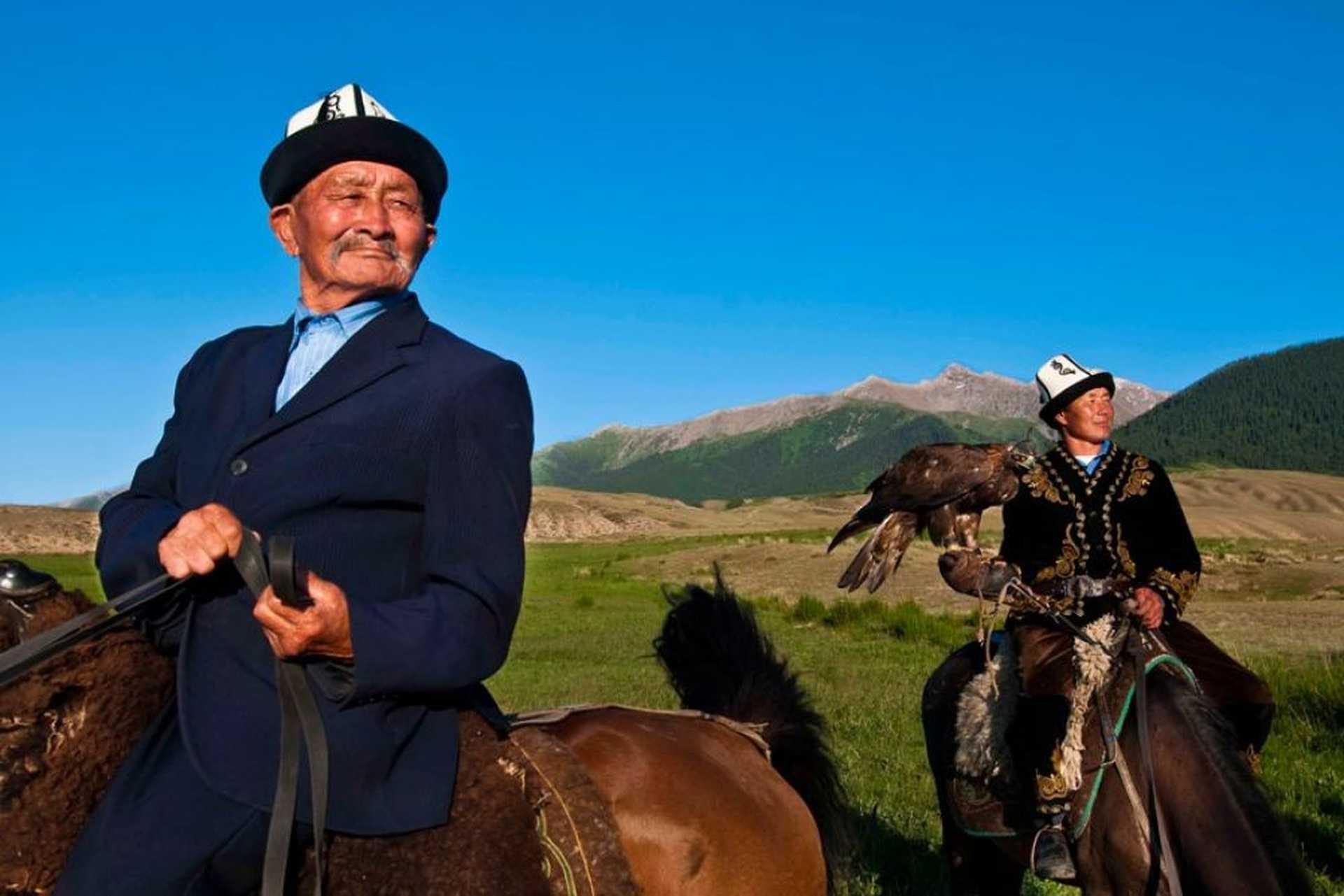 Kirghiz à cheval