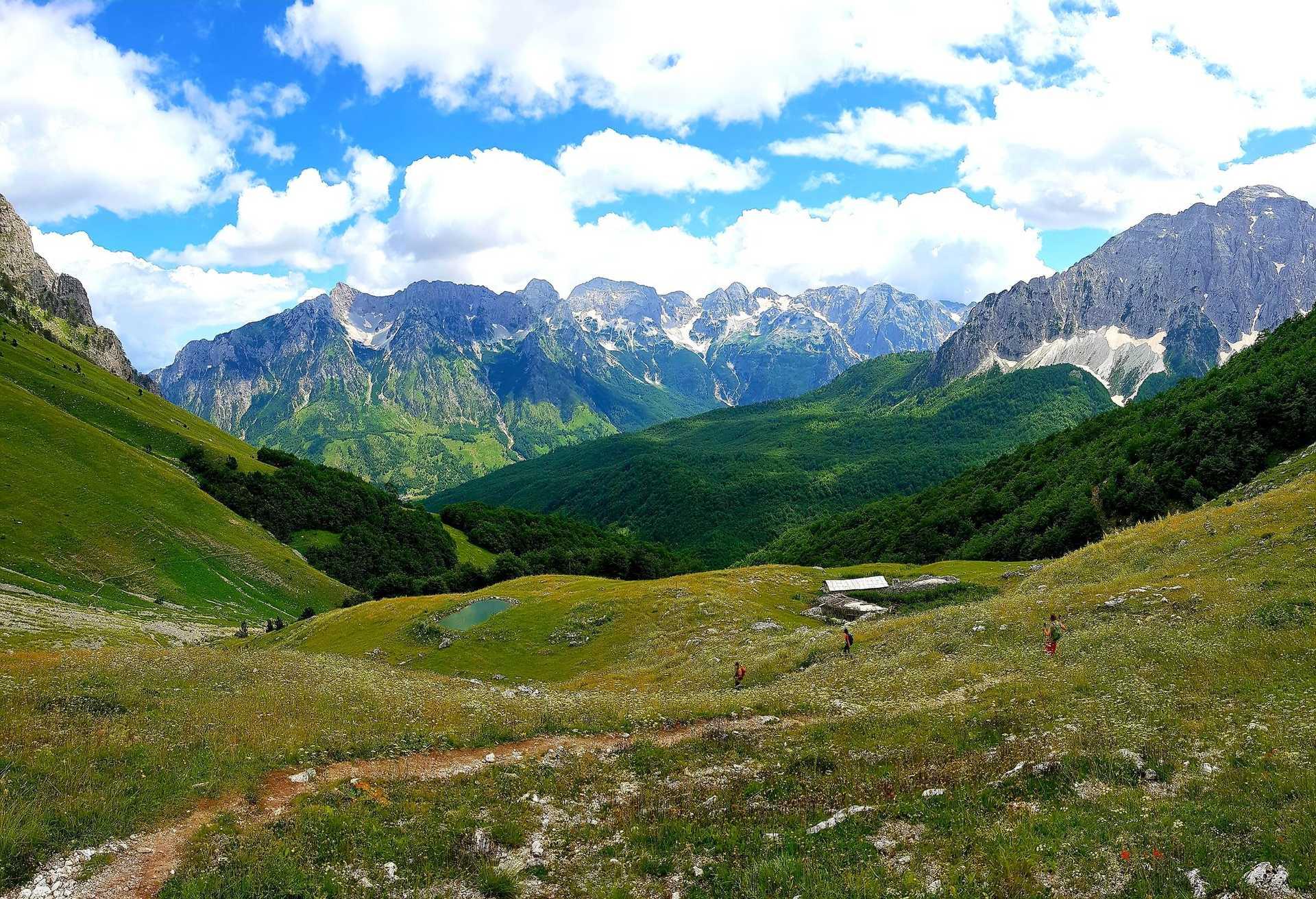 La bergerie de Rama dans les Alpes albanaises