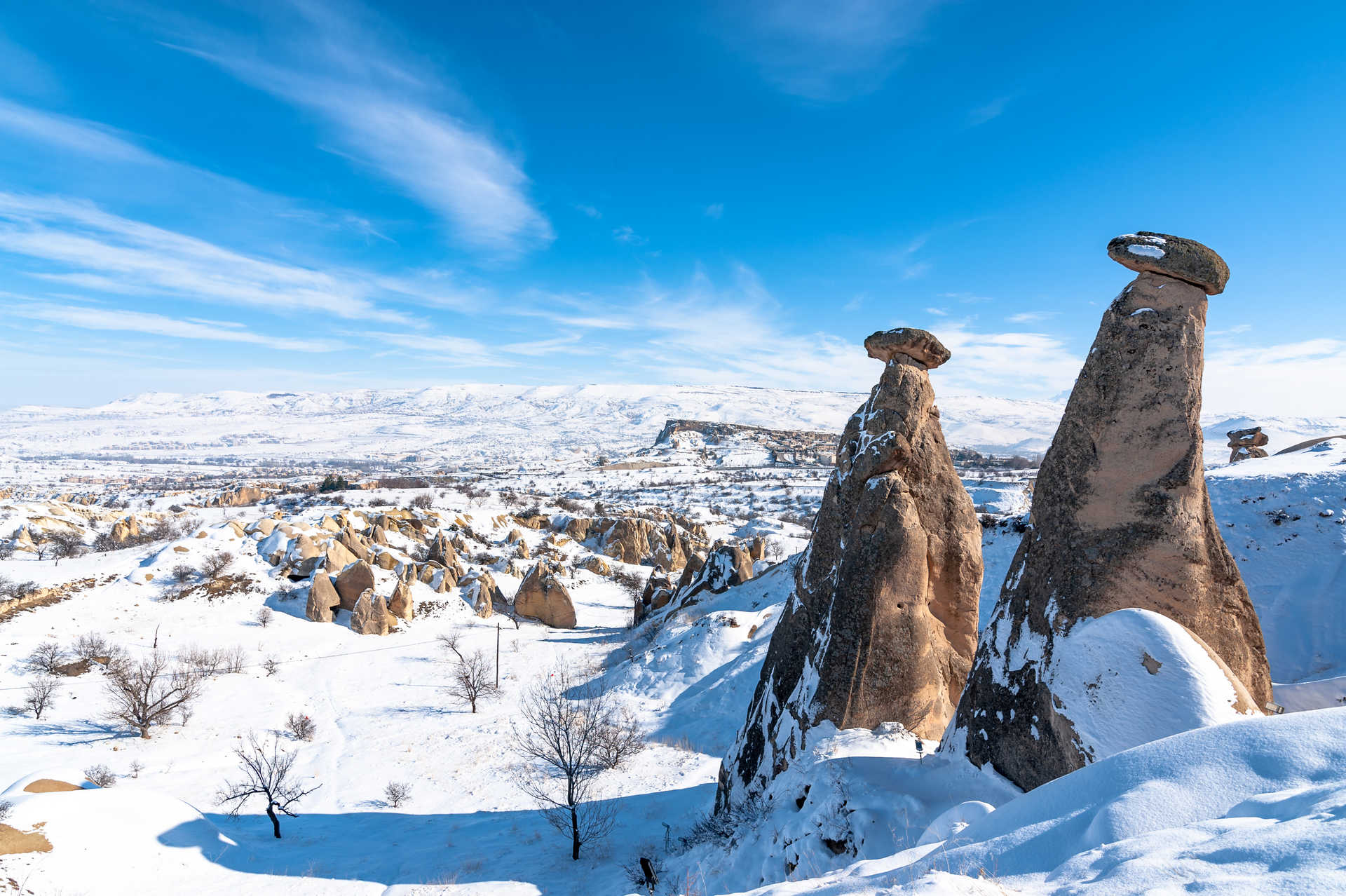La Cappadoce en Hiver