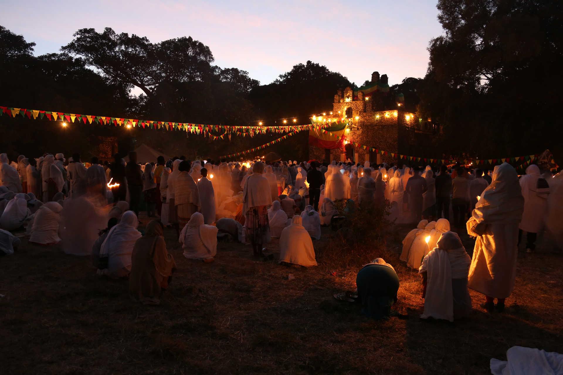 La fête de Timkat en Ethiopie
