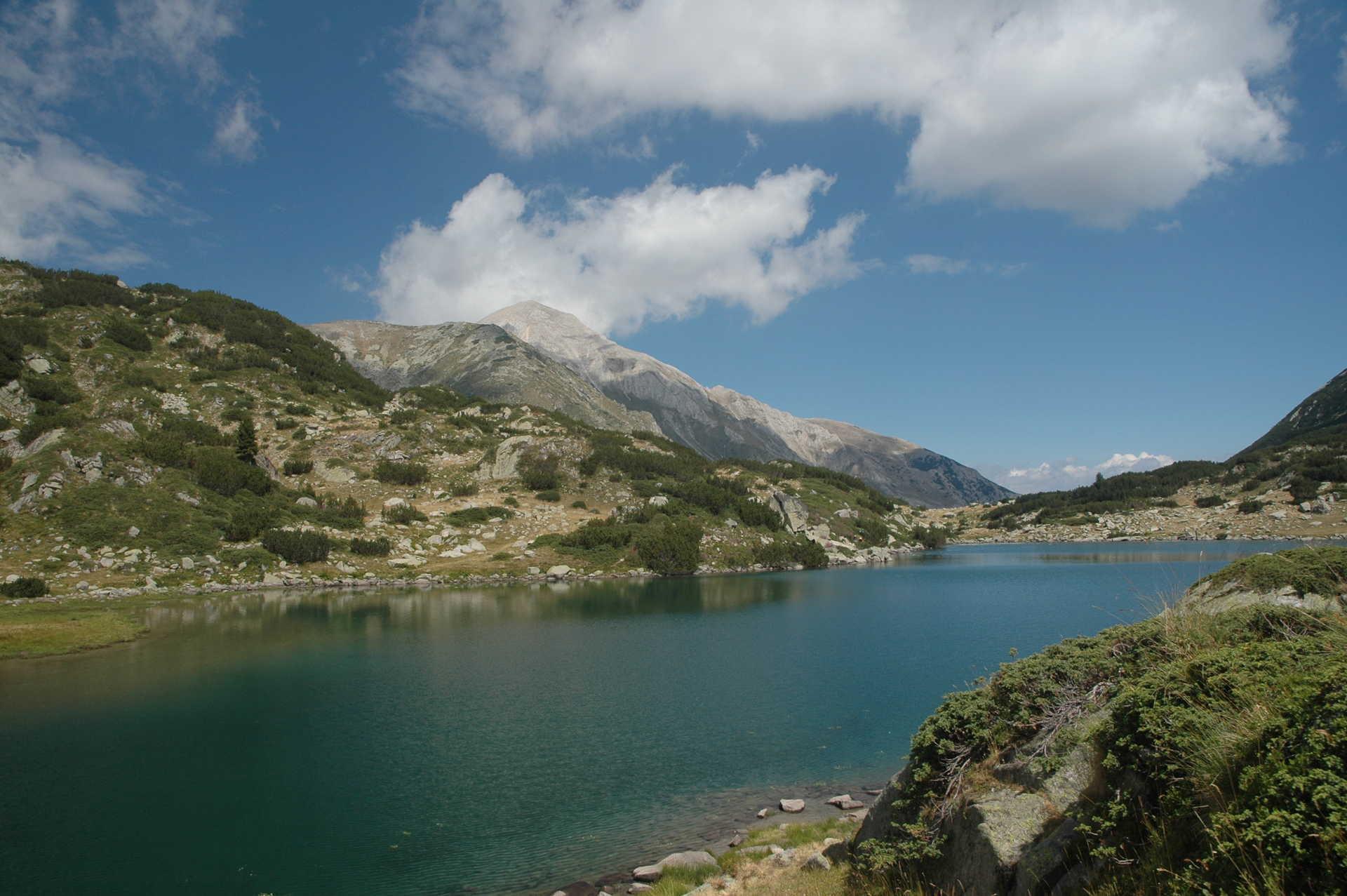 Lac Strachno Ezero dans le massif du Rila