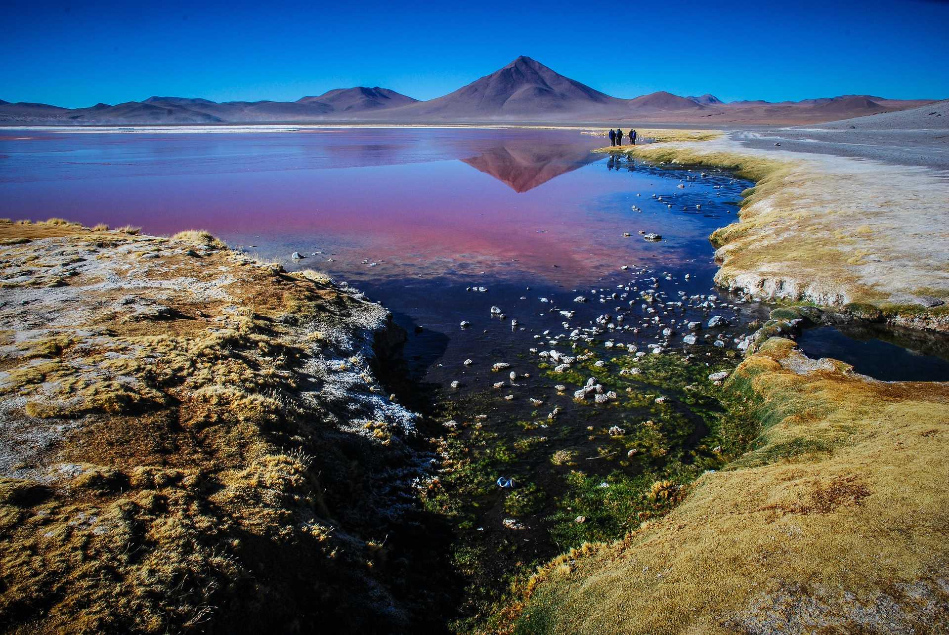 Lagune de l'altiplano