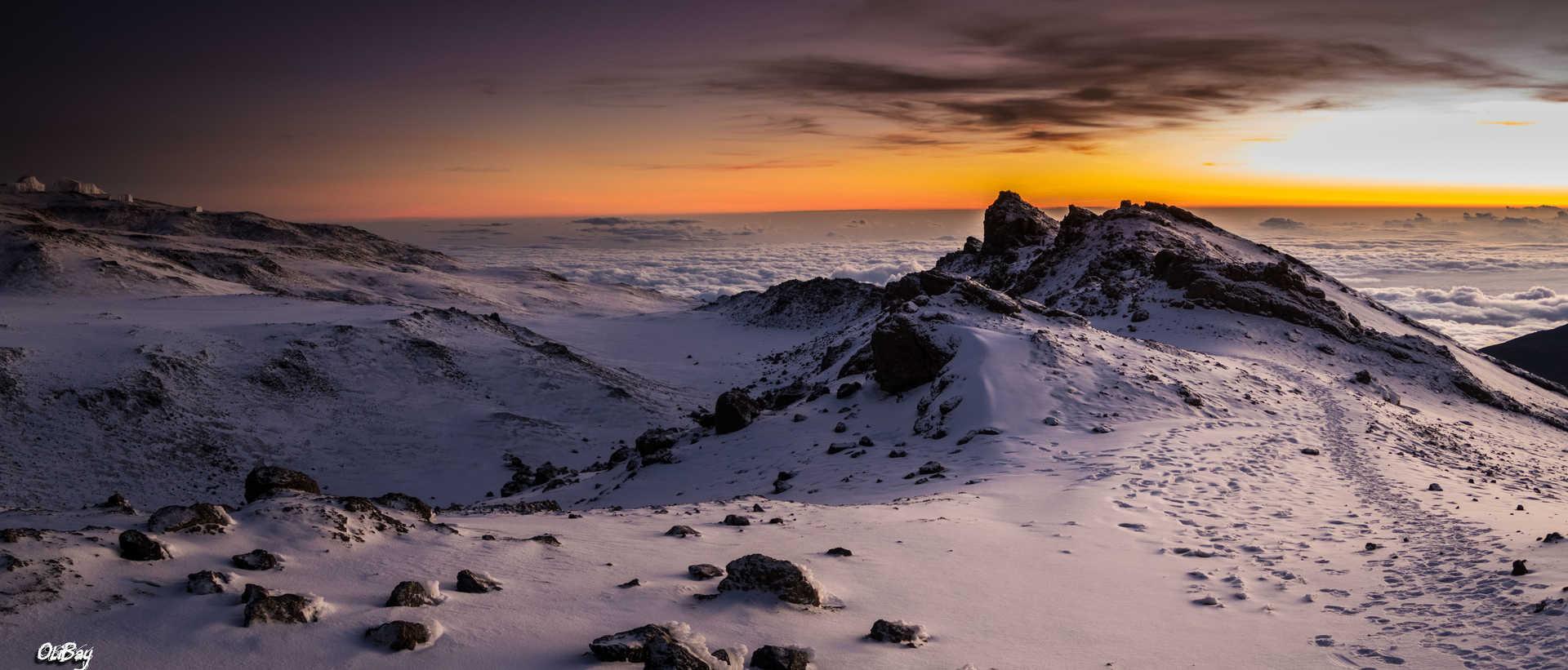 L'ascension du Mont Kilimandjaro
