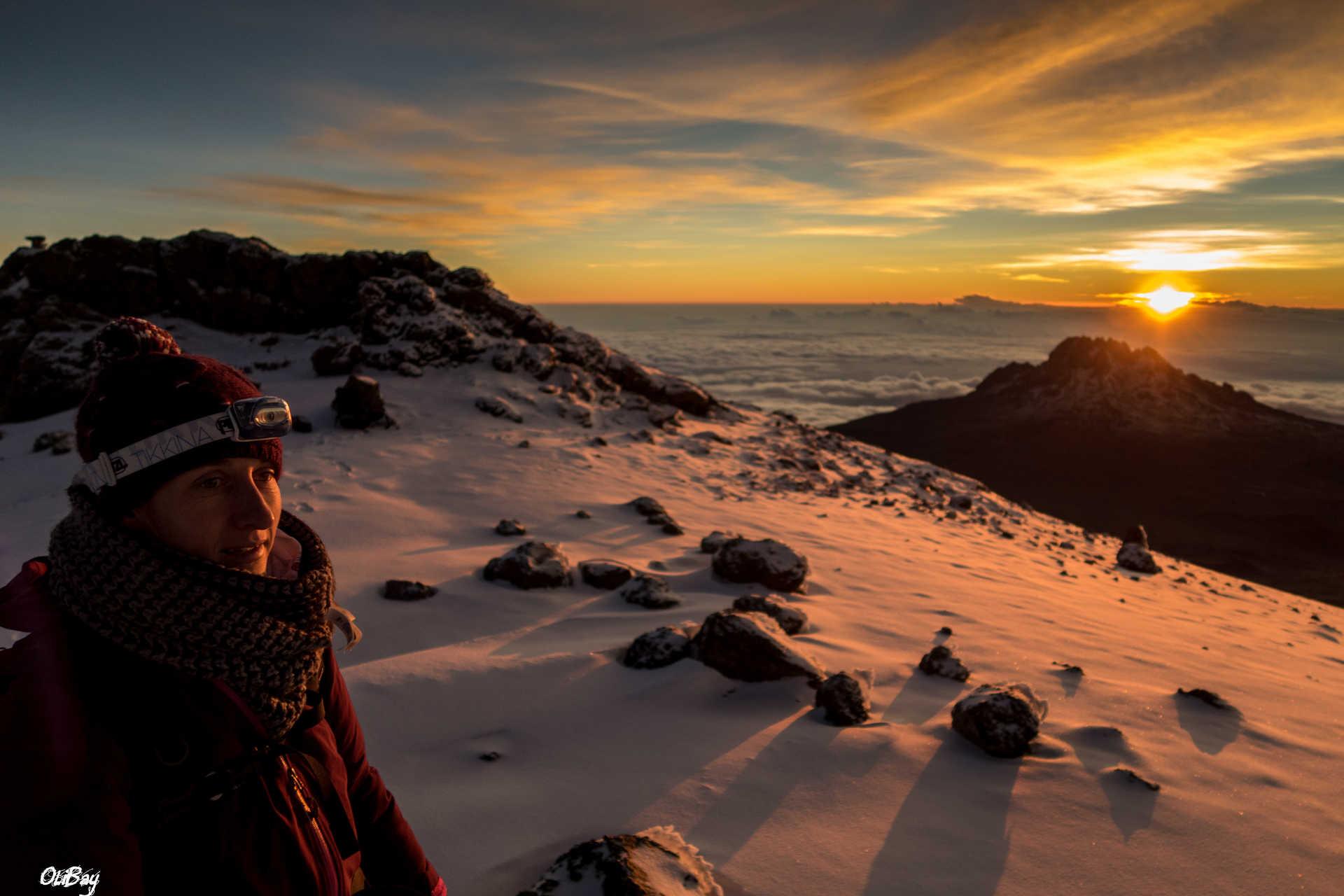Le souvenir gravé du lever de soleil sur le Kili