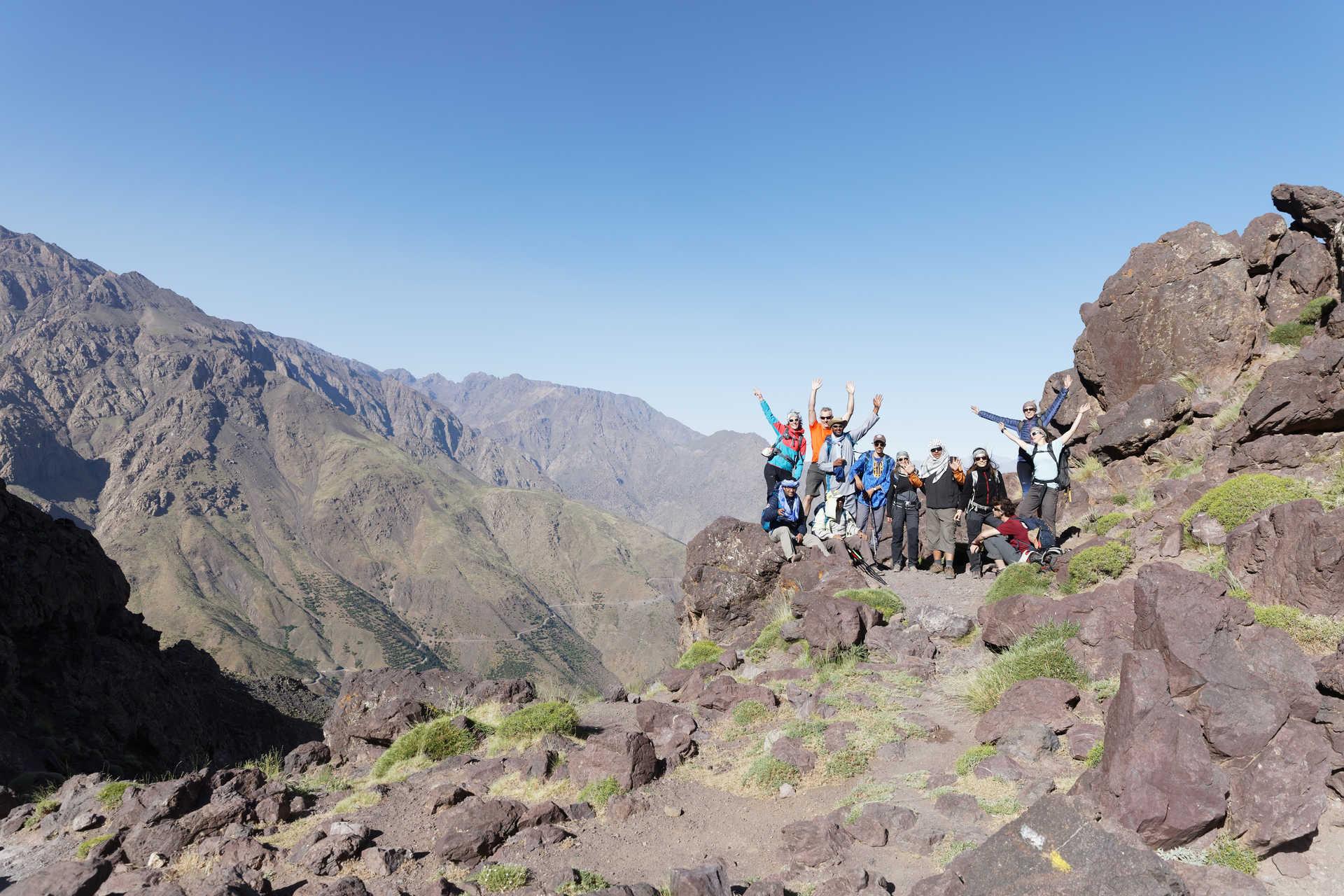 L'équipe Huwans au cœur de l'Atlas, Maroc