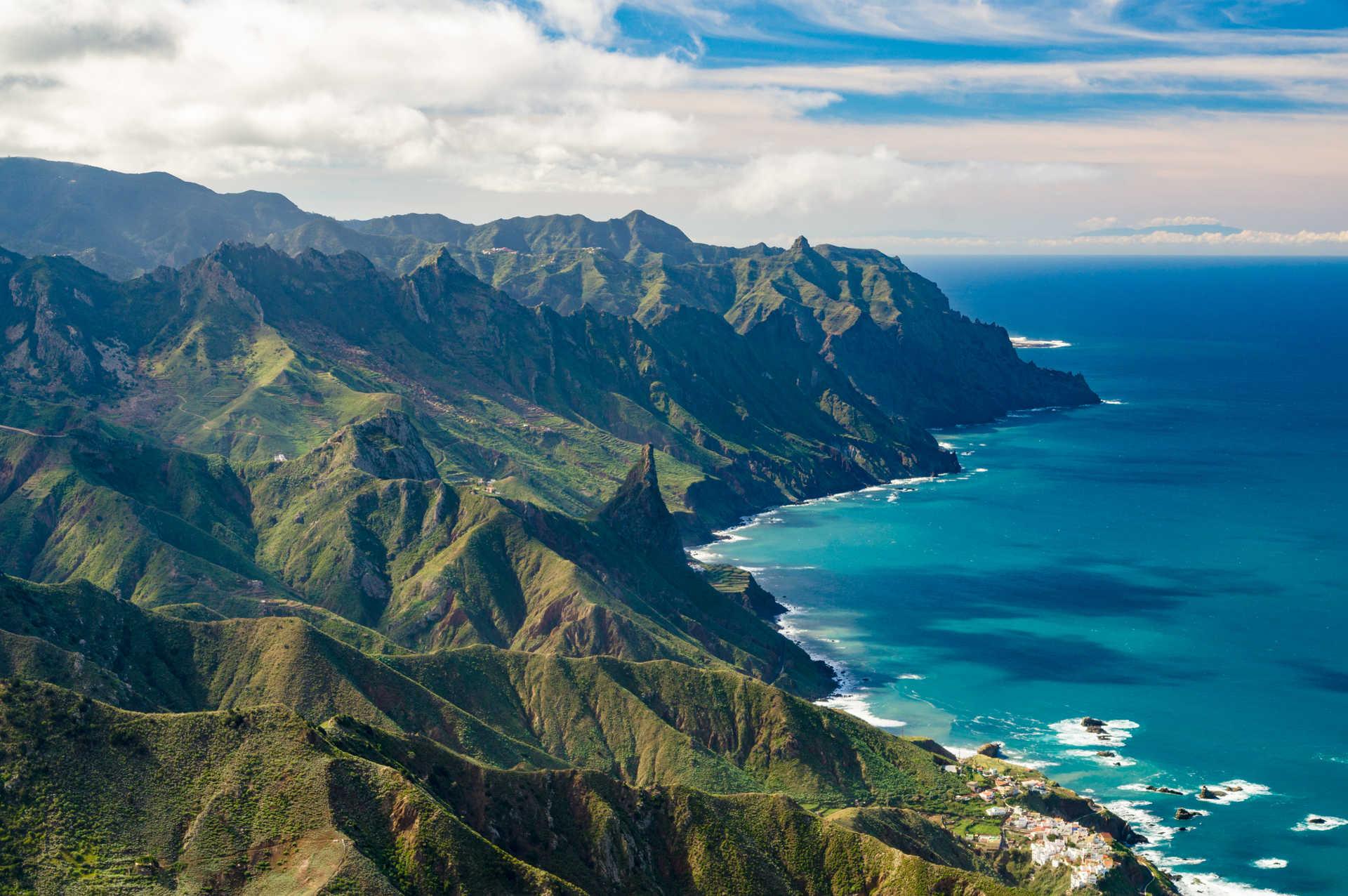 Montagnes d'Anaga à Tenerife
