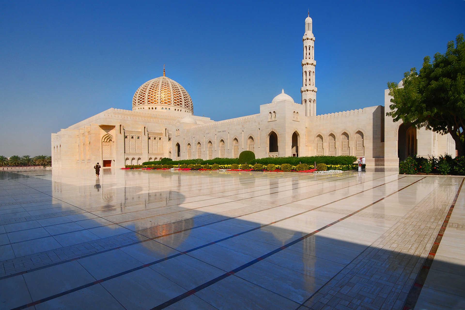 Mosquée du Sultan Qaboos, Mascate, Oman