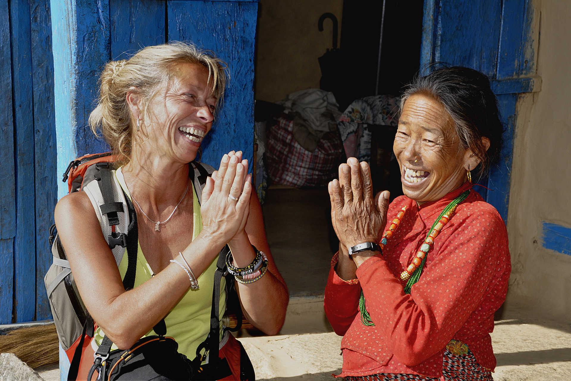 trek népal, trek annapurna facile