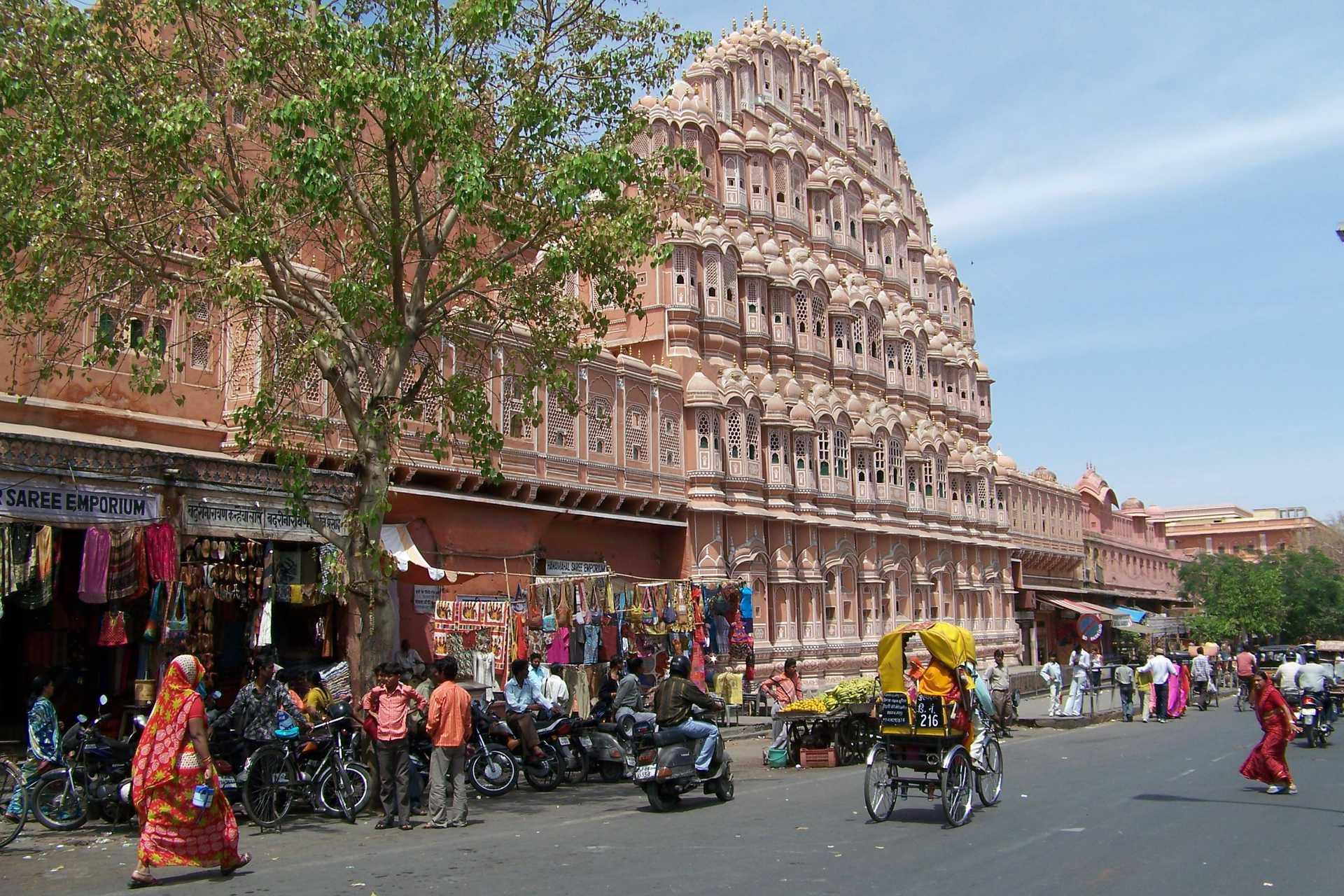 Palais des vents à Jaipur, Rajasthan
