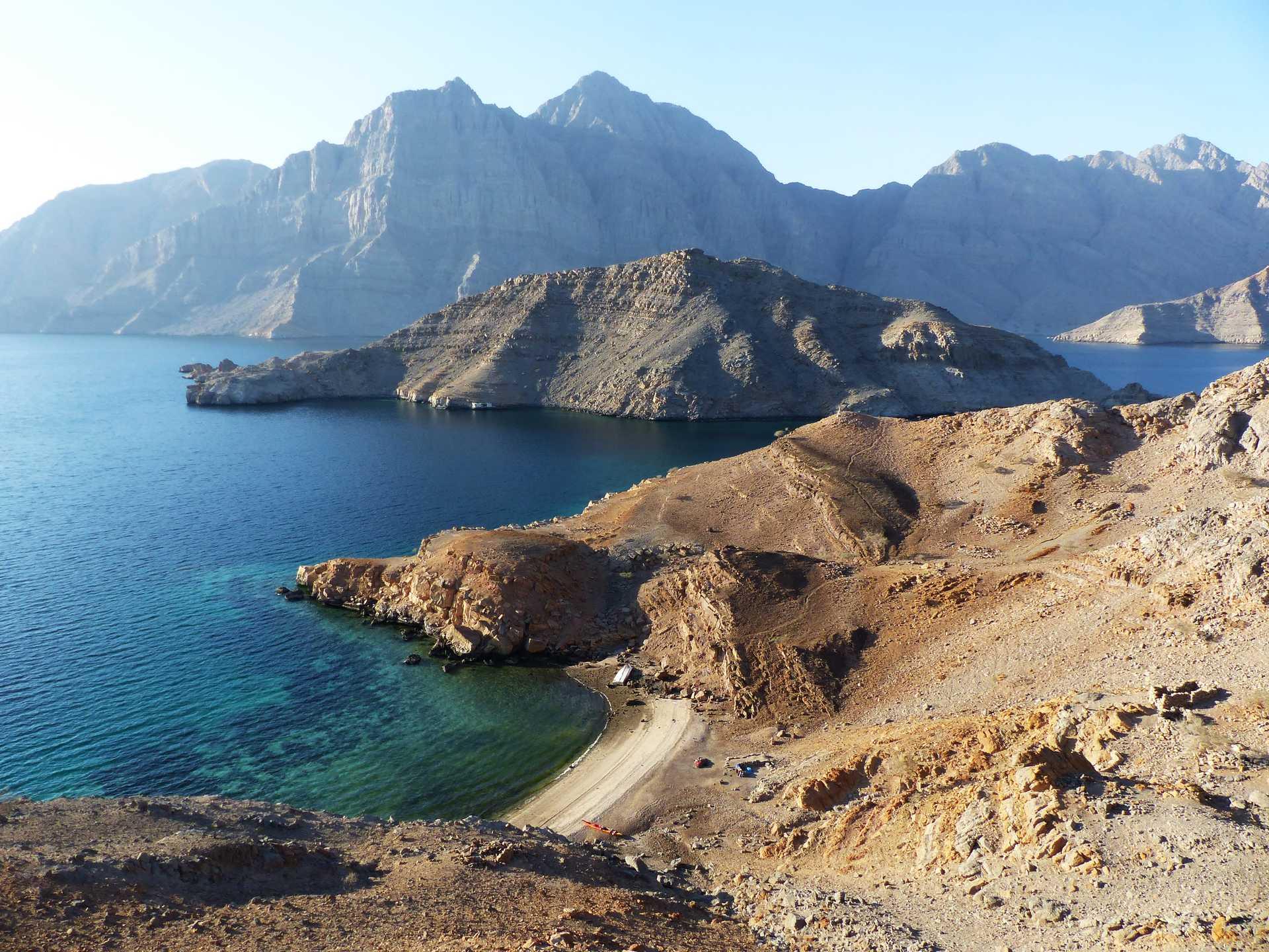 Plage de Karakir, Musandam, Oman