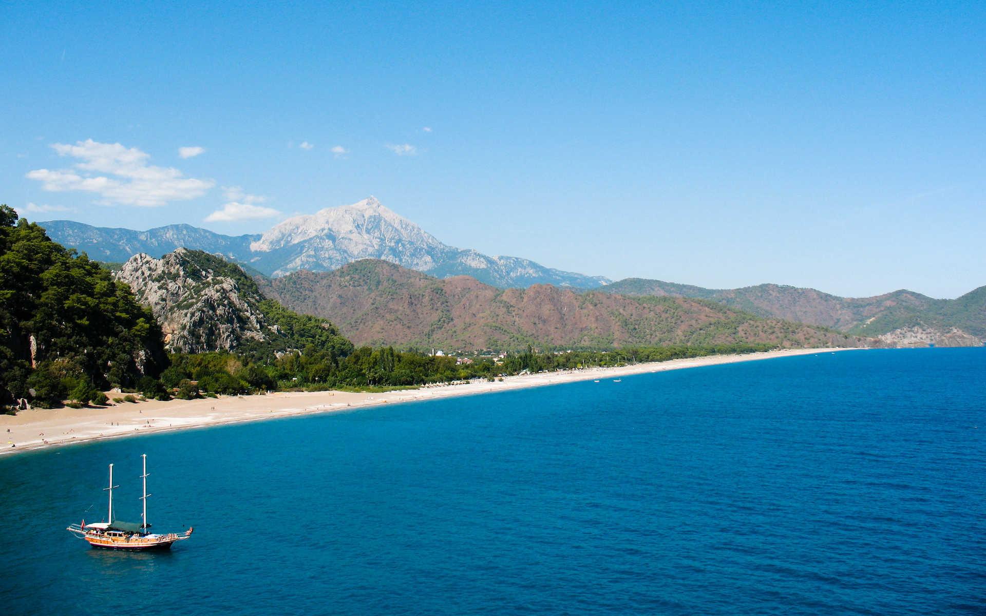 plage d'Olympos