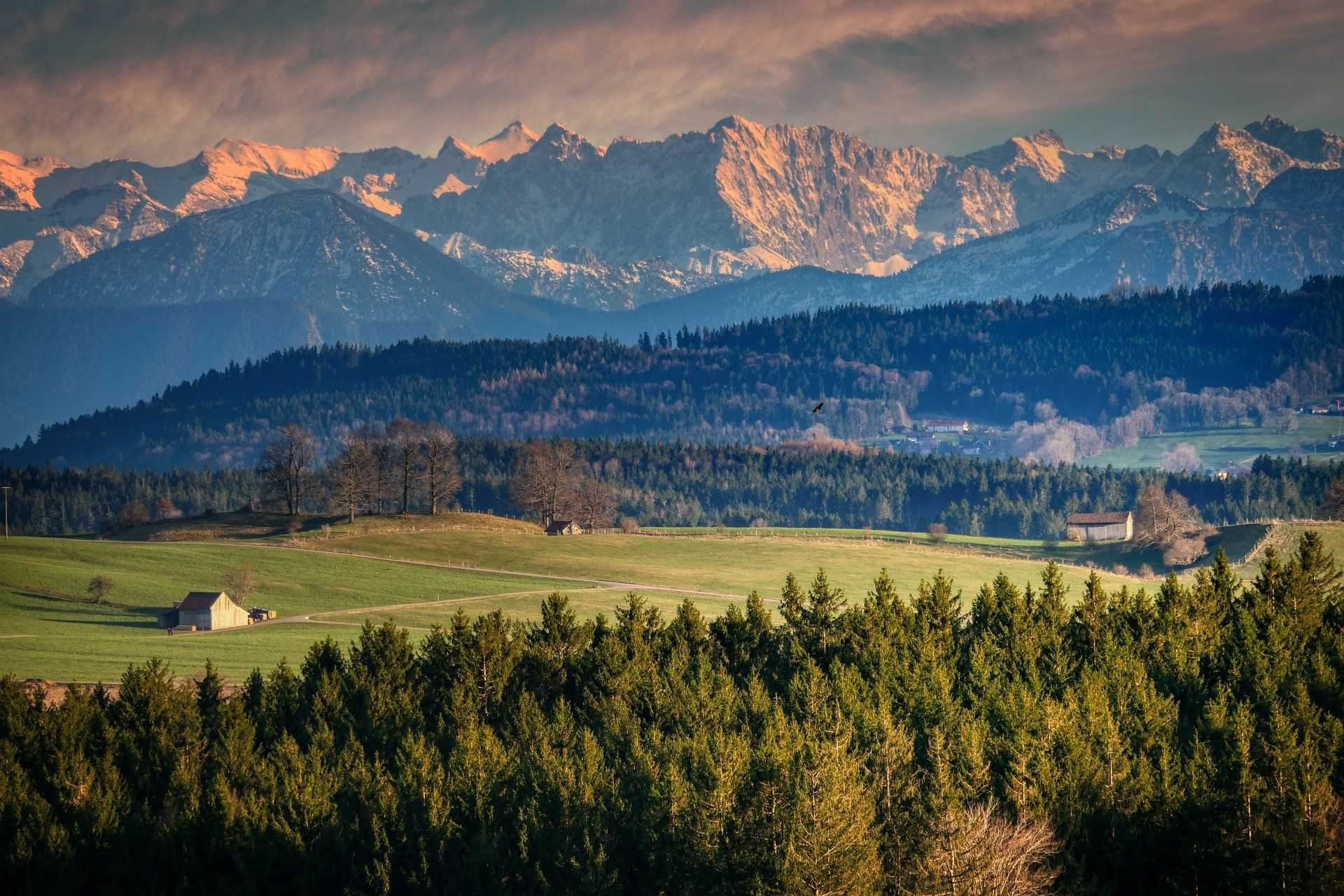 Plaines des Alpes lors de la Grande Traversée