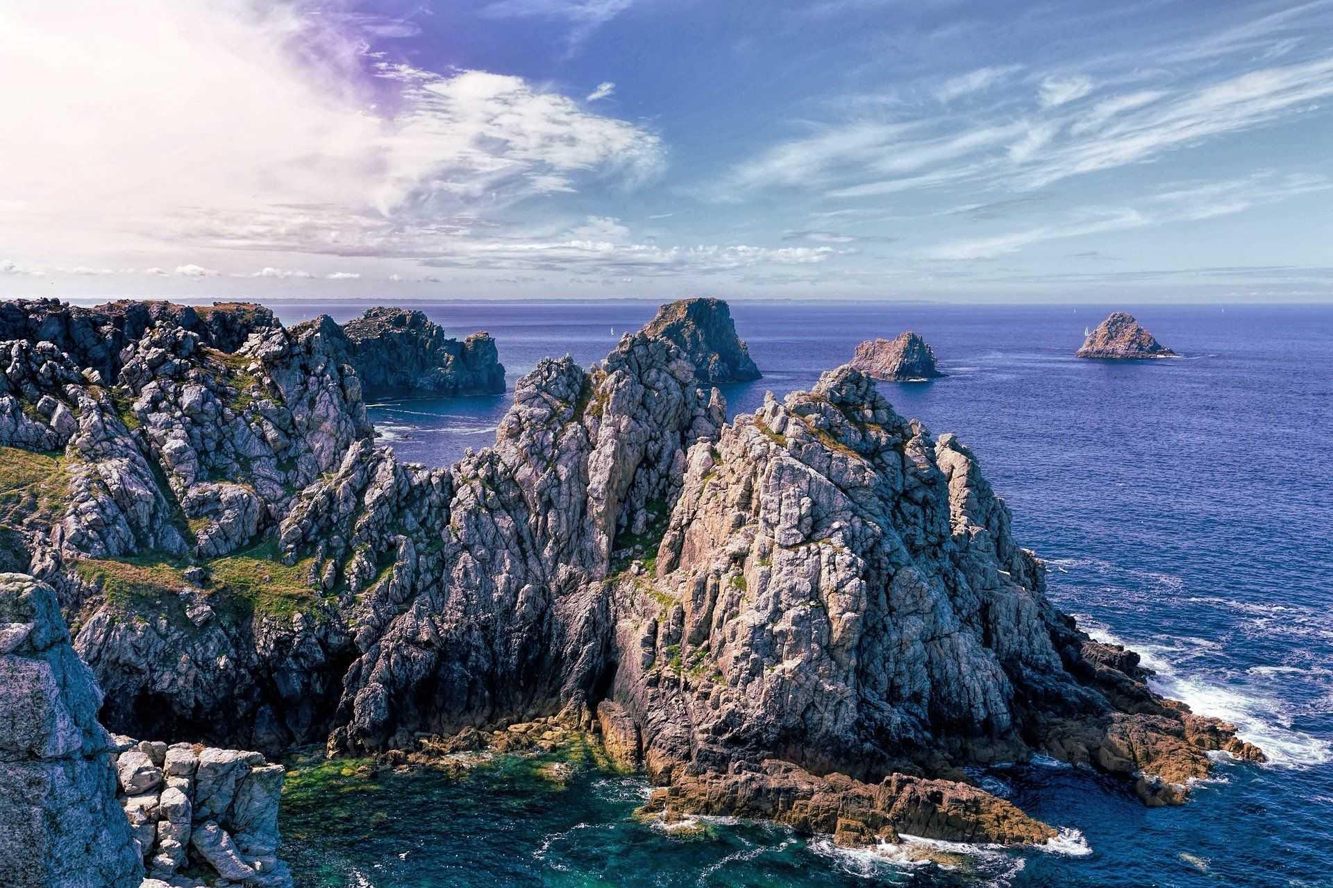 pointe de penhir dans le Finistère