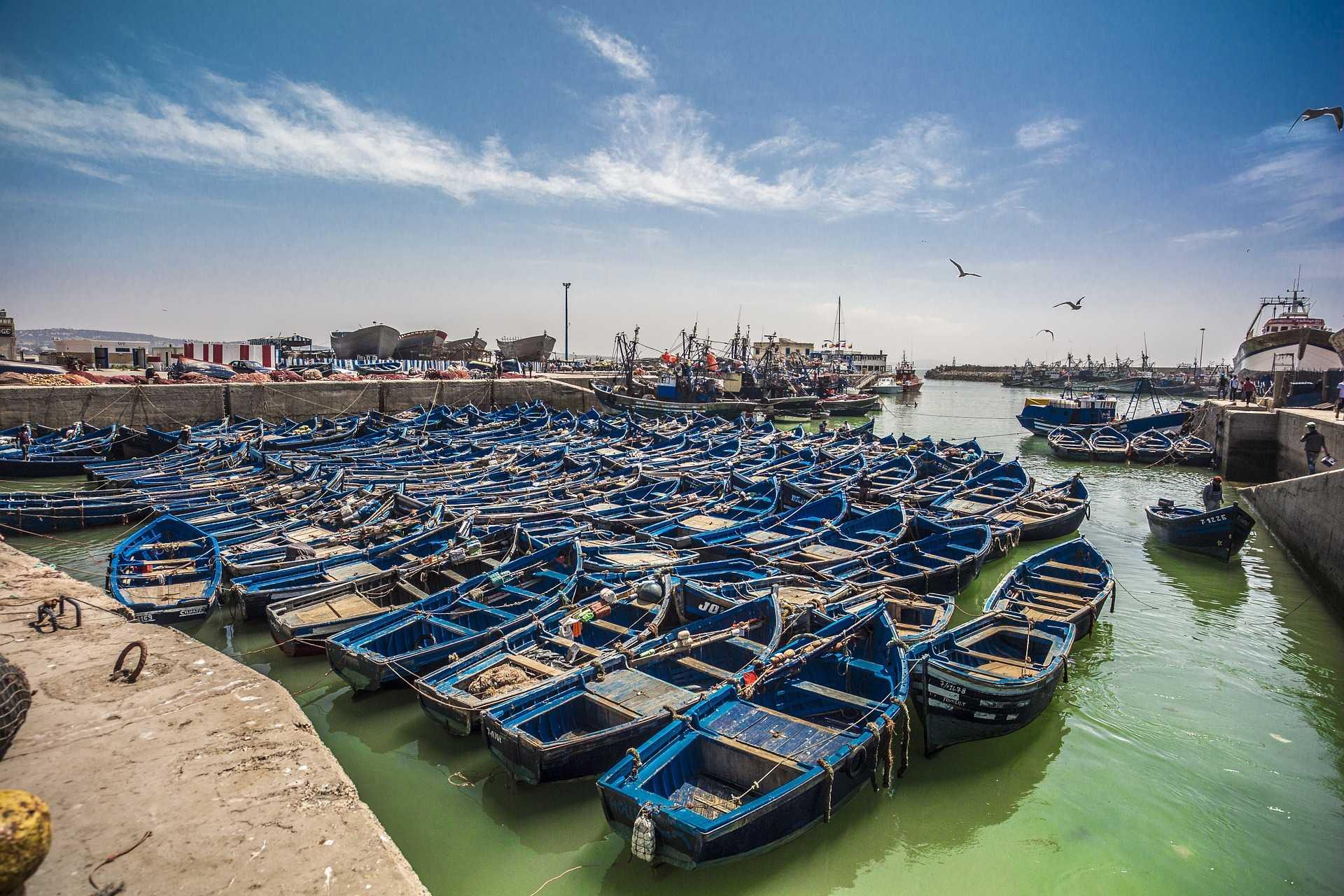 Port d'Essaouira, Maroc