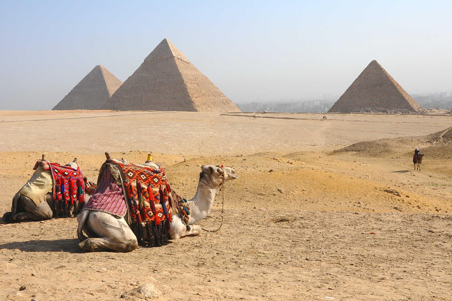 Pyramides de Gizéh