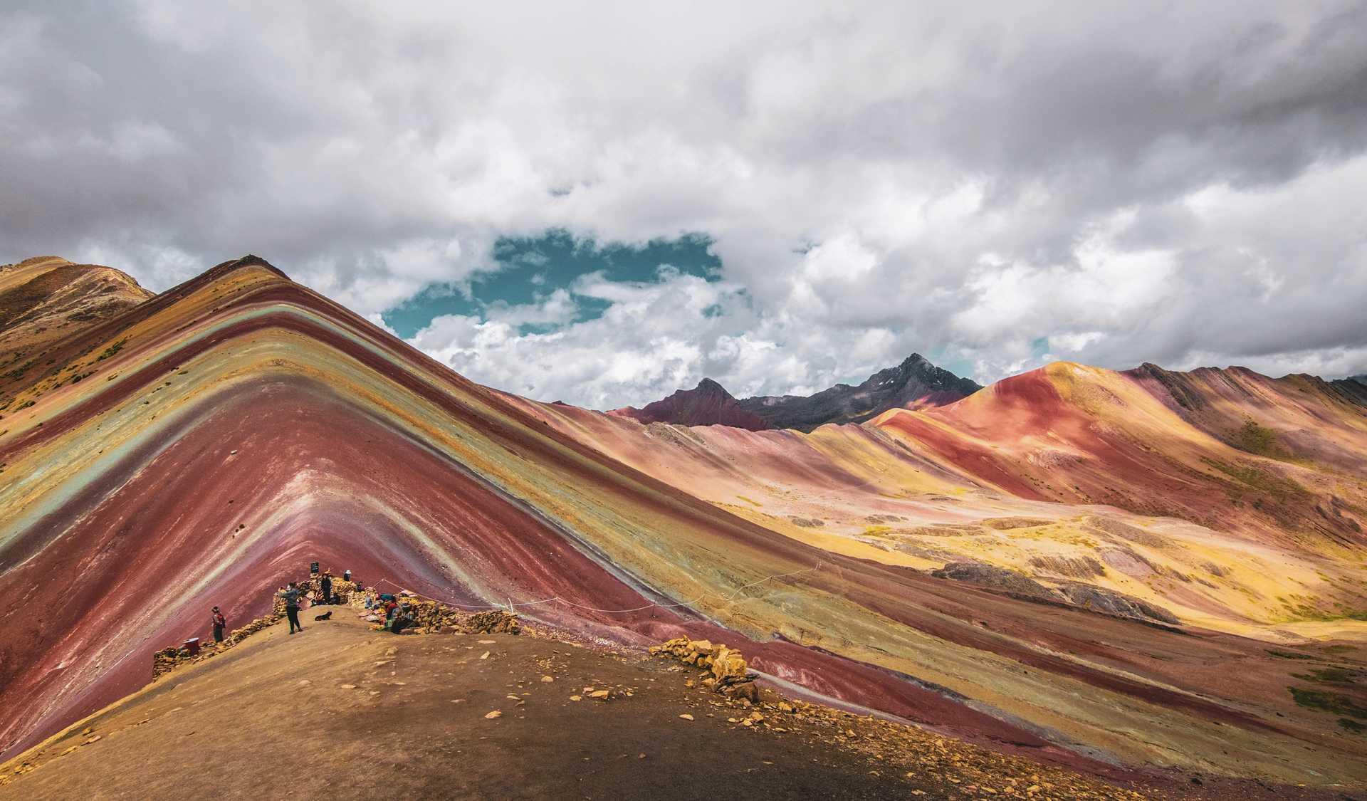 Rainbow Mountain au Pérou