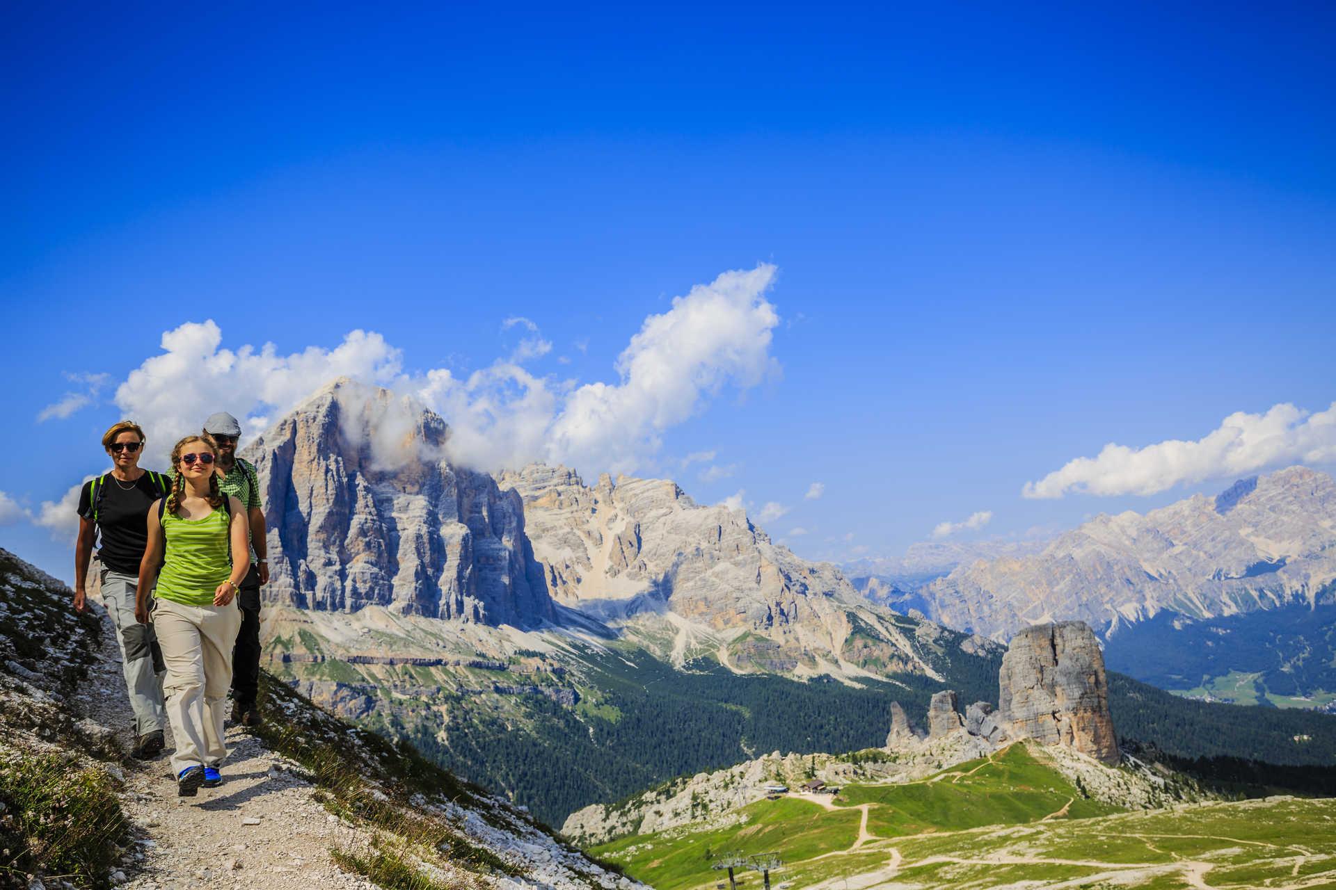 Rando Dolomites en étoile